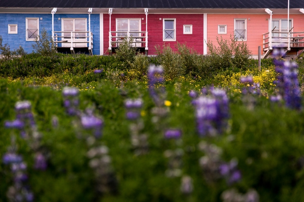 A Row of House in South Greenland - Photo by Mads Pihl - Visit Greenland
