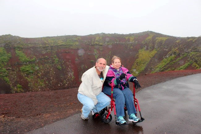 Kerid - Accessible Travel in Iceland