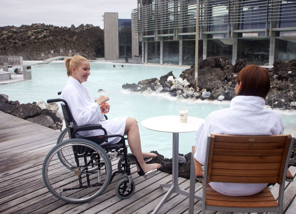 The Blue Lagoon - Reykjanes Peninsula - Iceland for wheelchair users - Iceland accessible tour