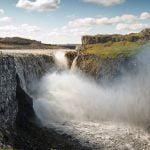 Powerful waterfall Detifoss