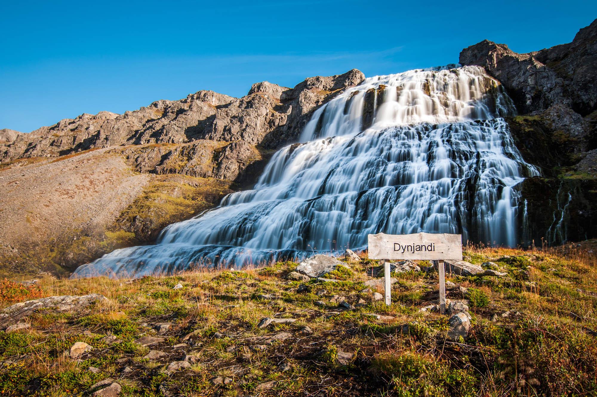 Dynjandi Waterfall - Westfjords Iceland