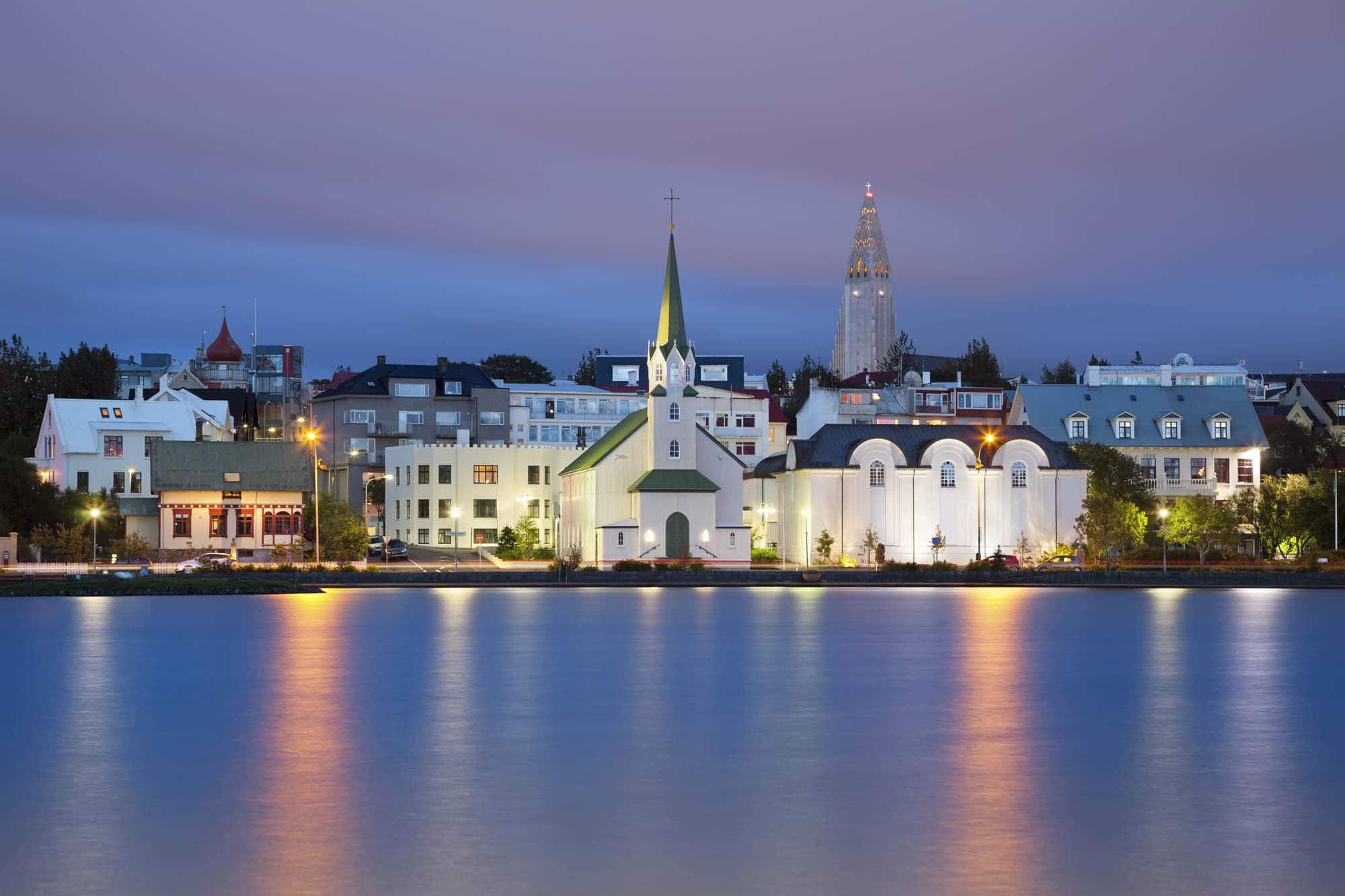 Frikirkjan church Reykjavik