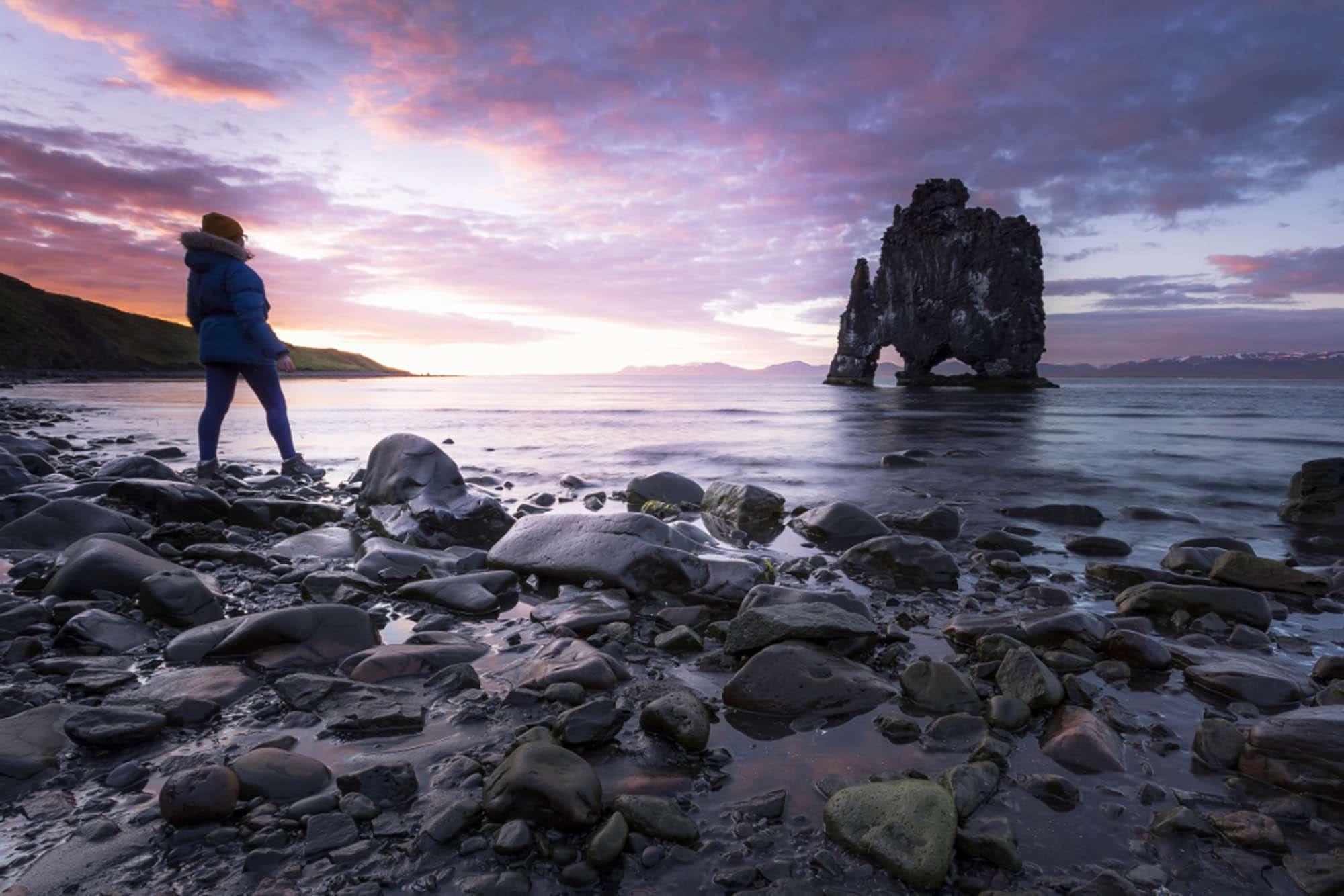 Iceland holidays - Hvitserkur North Iceland
