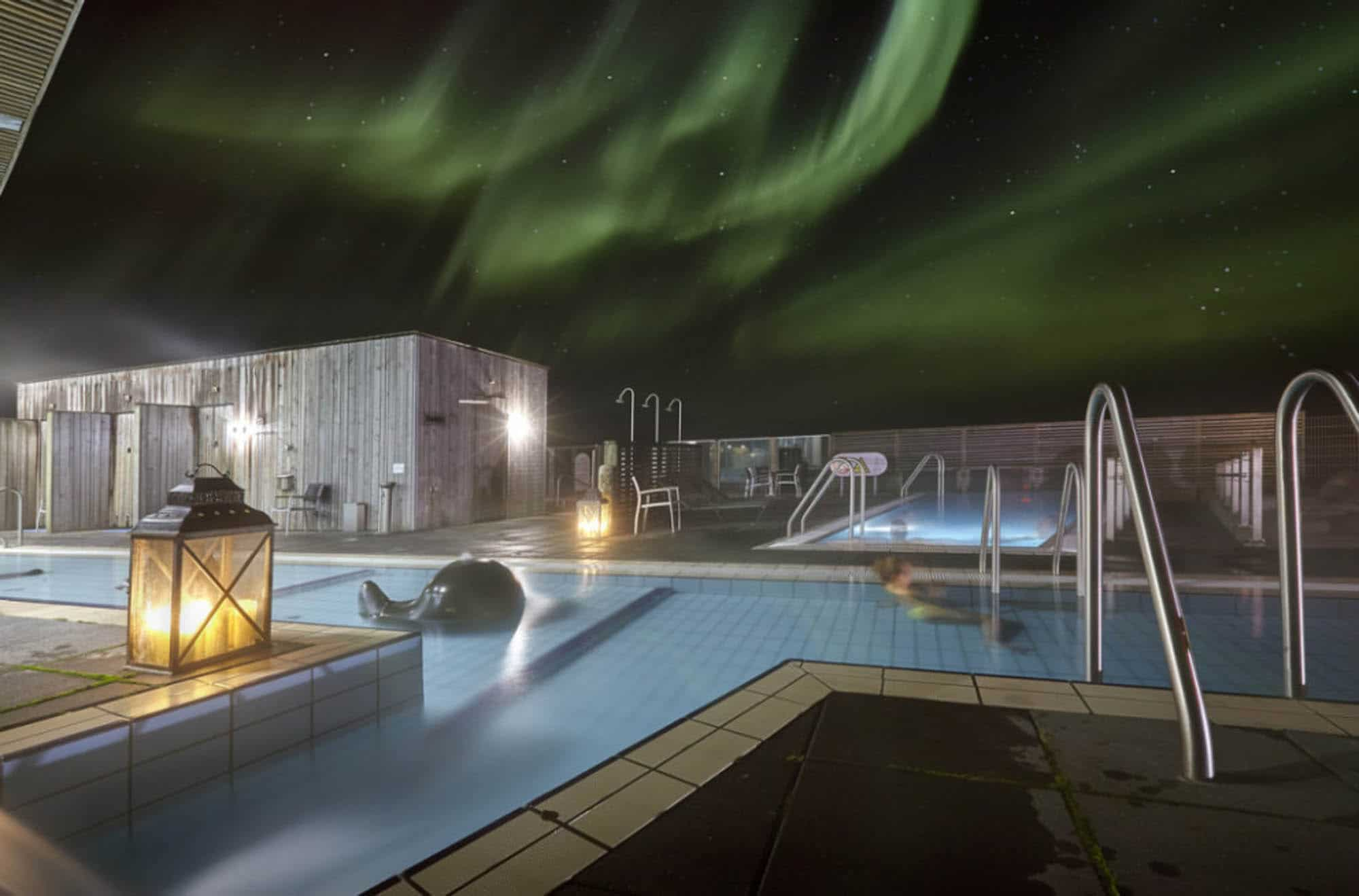Laugarvatn Fontana SPA - Iceland New years eve