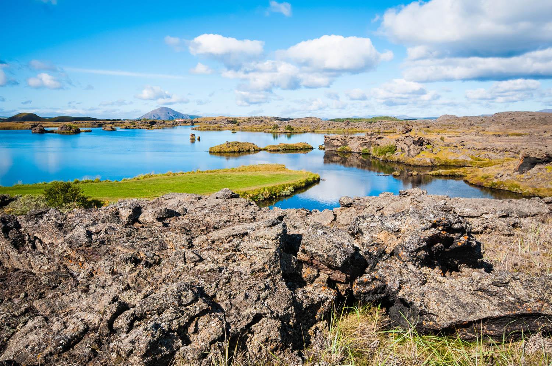 Myvatn lake - iceland round trip summer