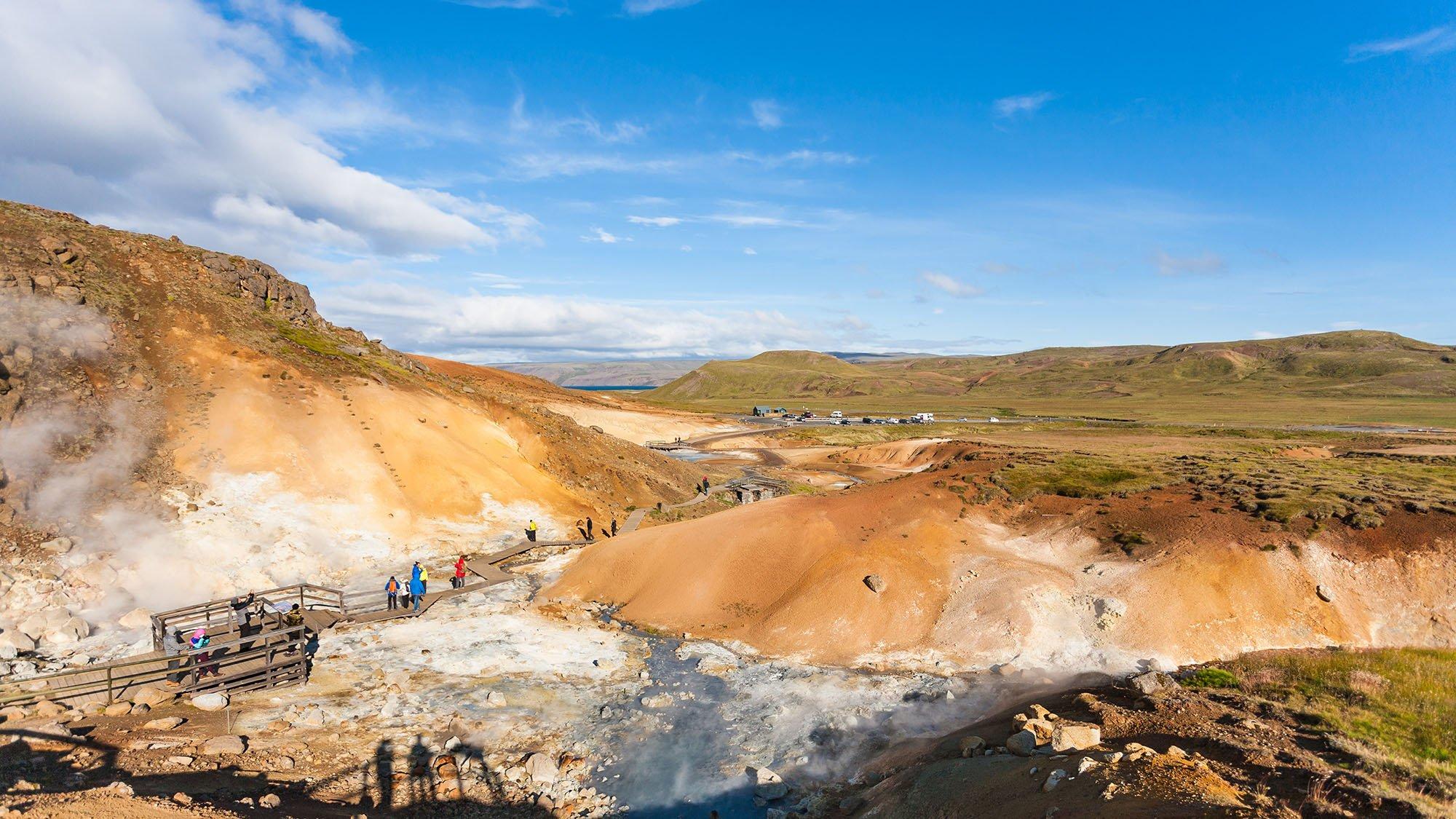 Seltún - Reykjanes Peninsula - Iceland private day tour