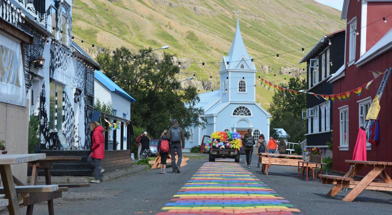 Seyðisfjörður city - self drive tour iceland 10 days