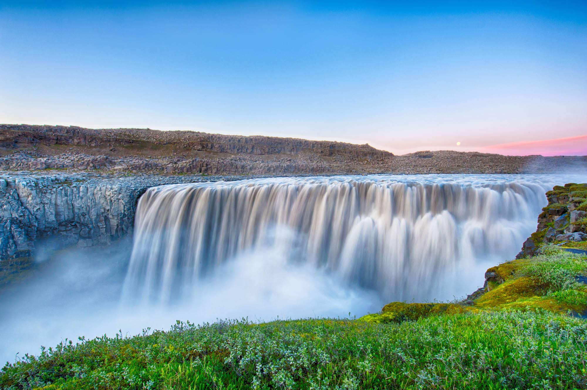 Godafoss waterfall in North Iceland - Iceland self-drive tour package
