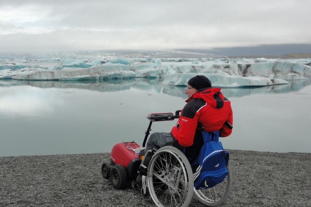 Accessible Holidays Iceland - Glacier Lagoon