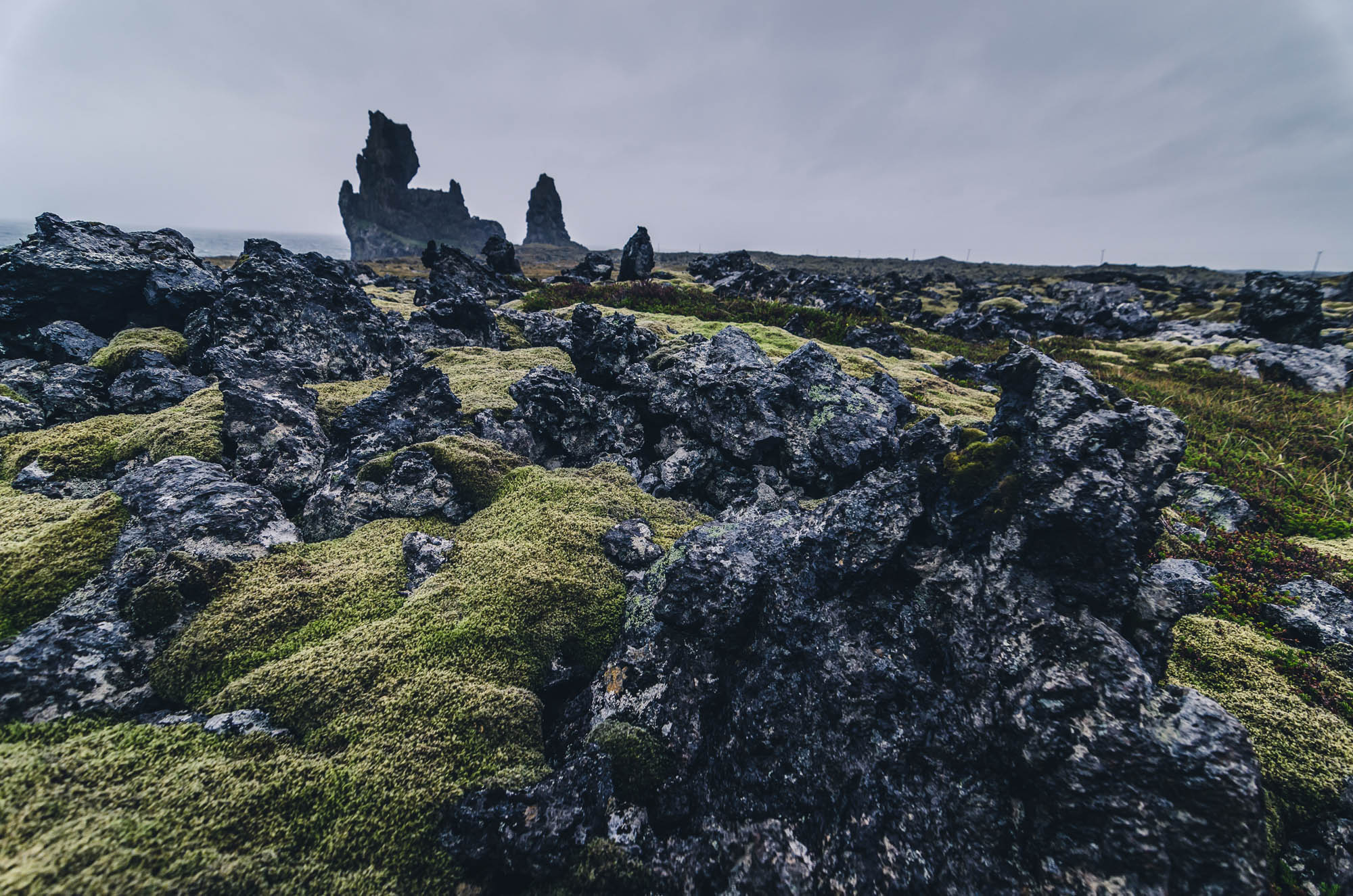amazing rock formation in Iceland - snaefellsnes
