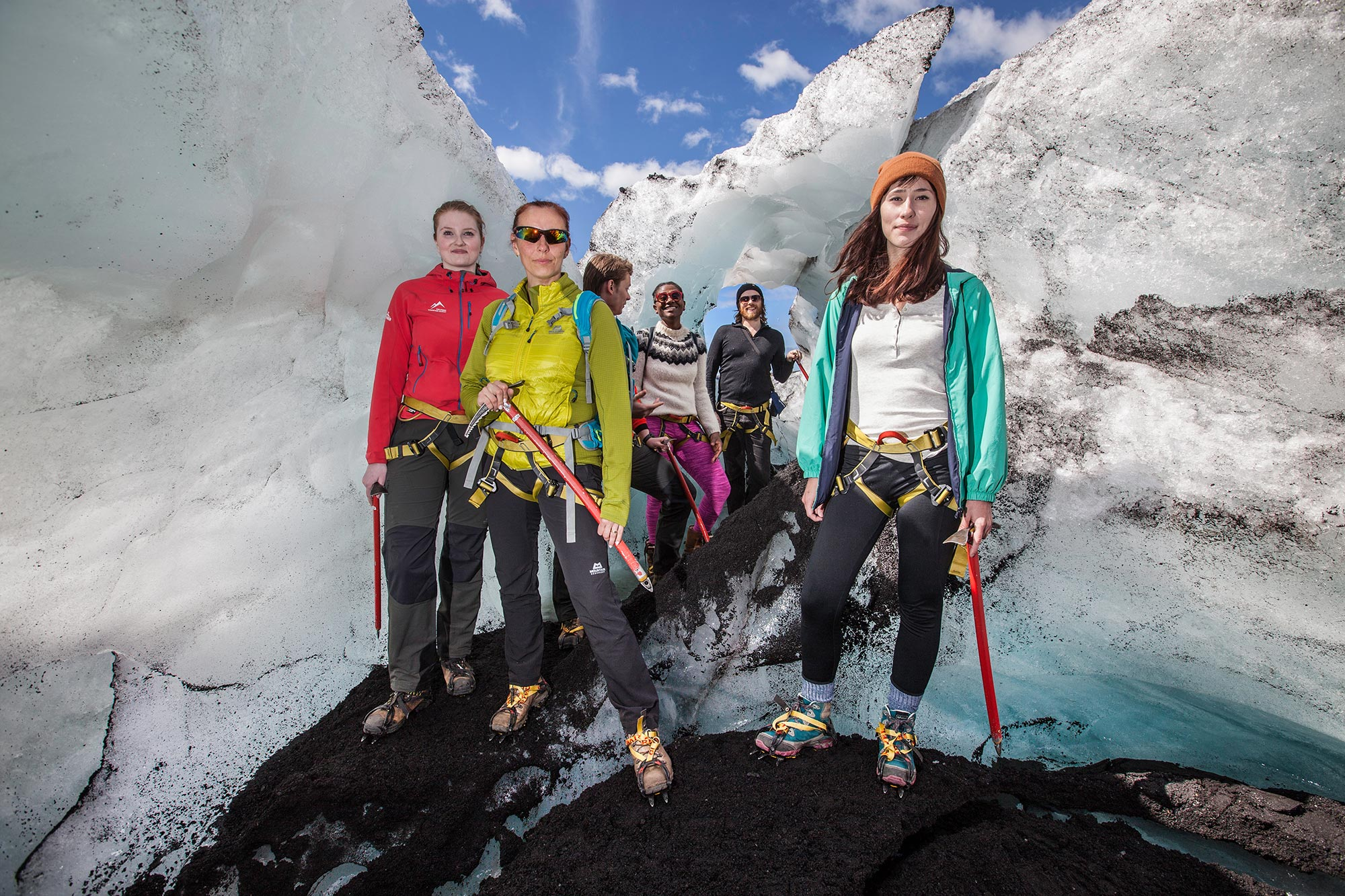 sólheimajökull glacier hike - photo by bjorgvin hilmarsson