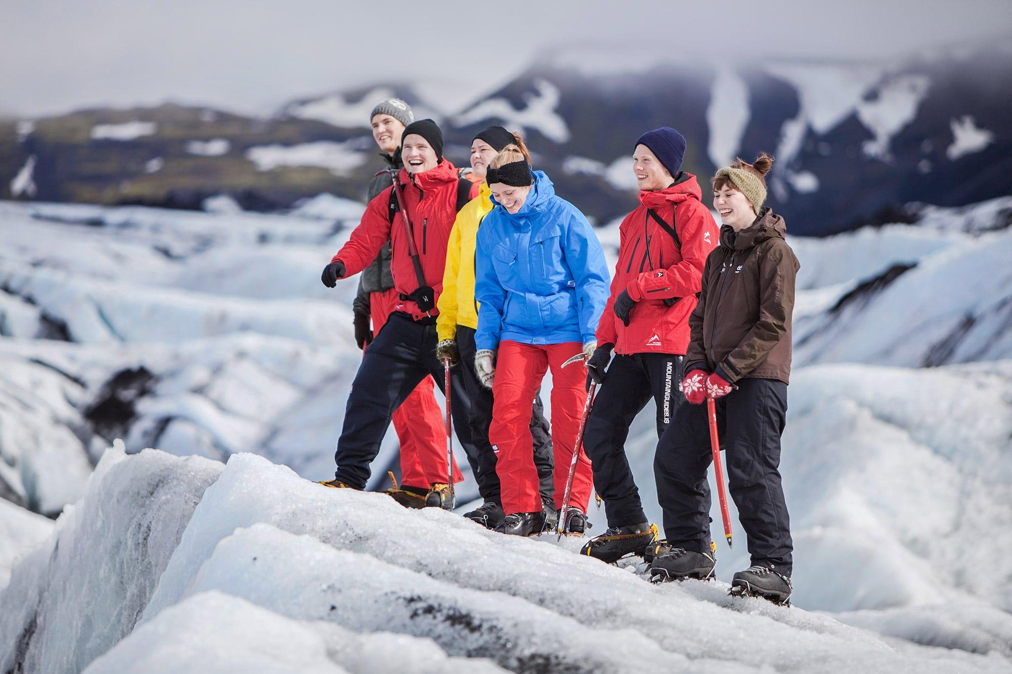 iceland glacier walk - photo by bjorgvin hilmarsson