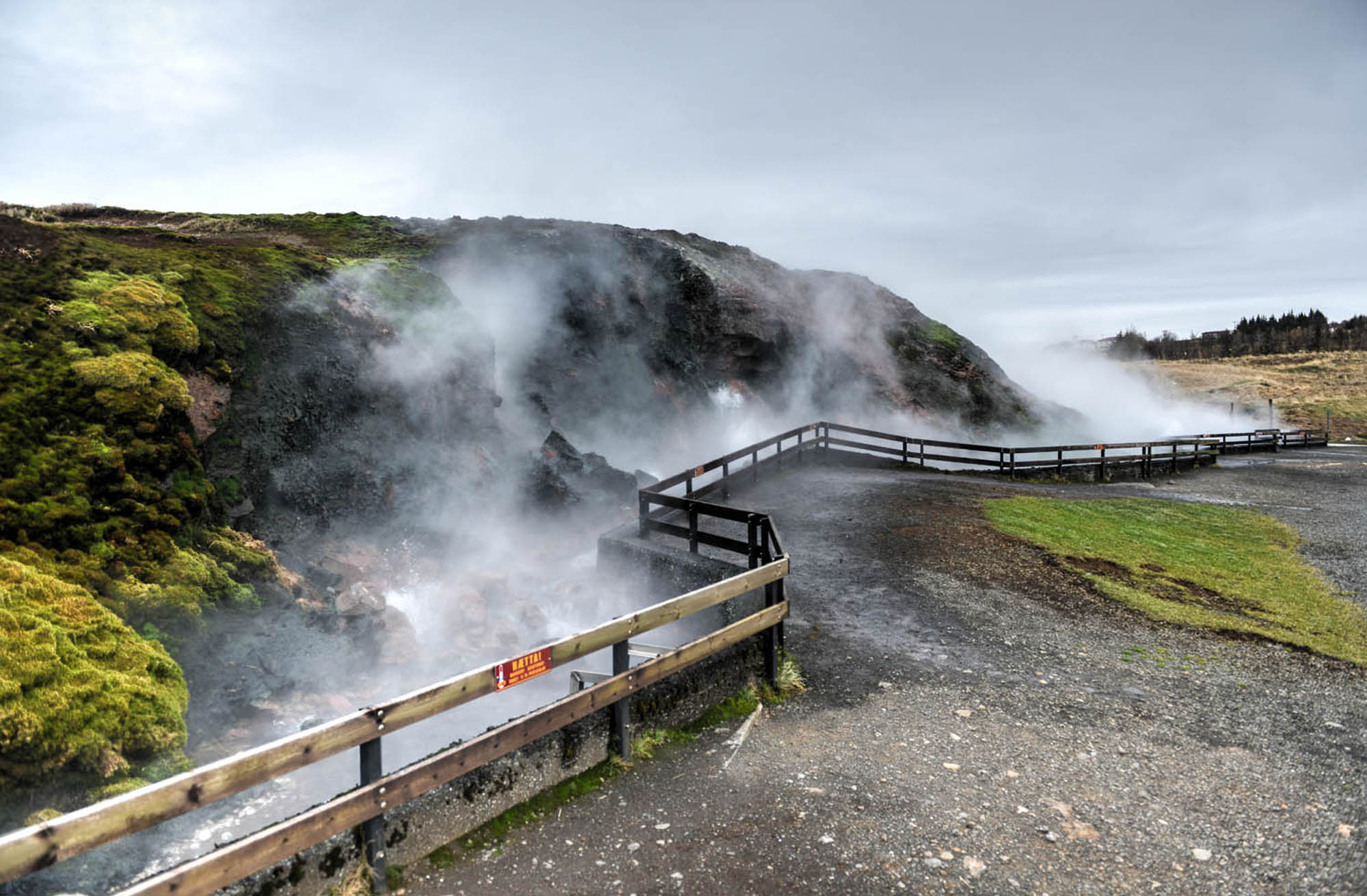 Deildartunguhver hotspring - West Iceland