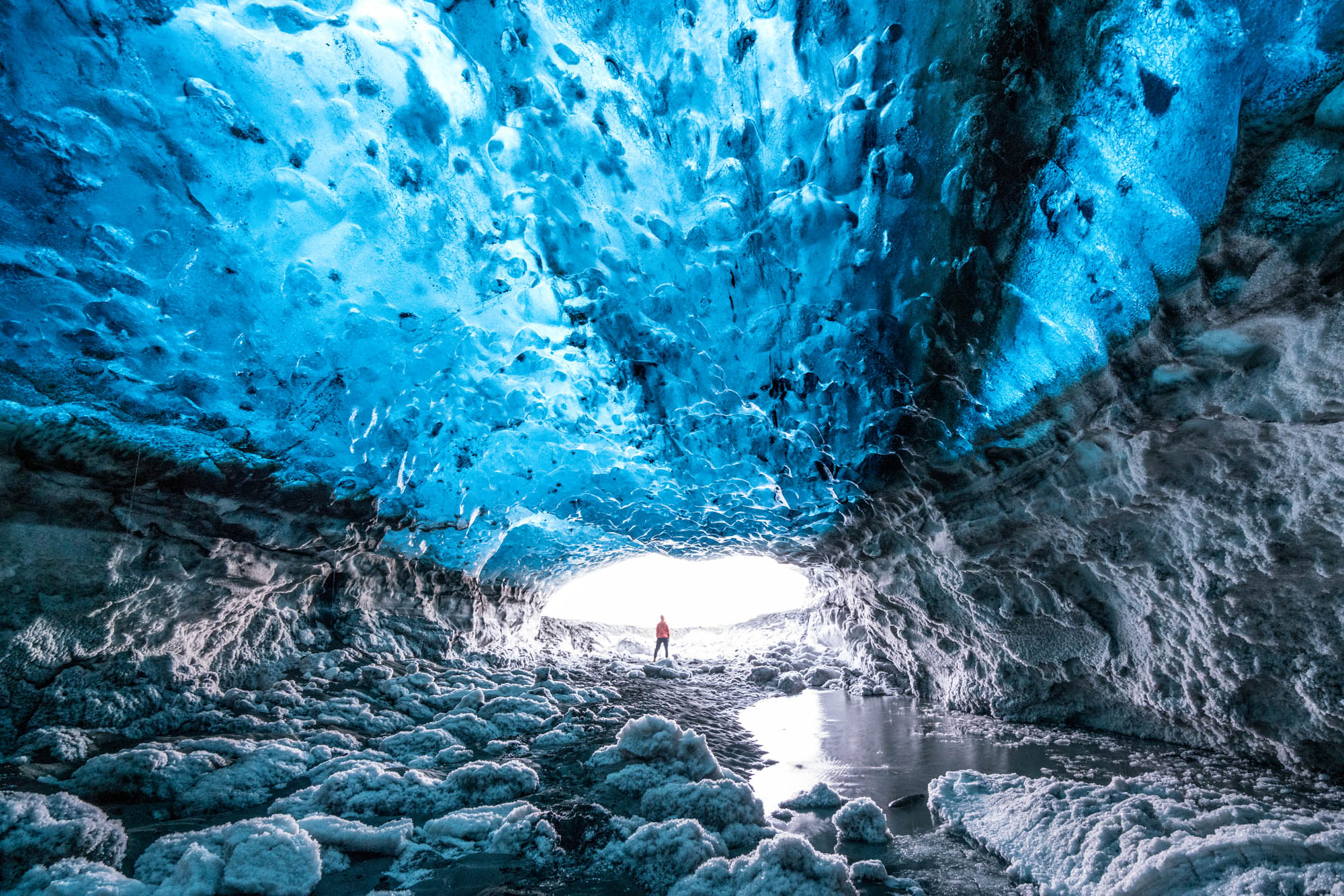 iceland ice cave tour from jokulsarlon