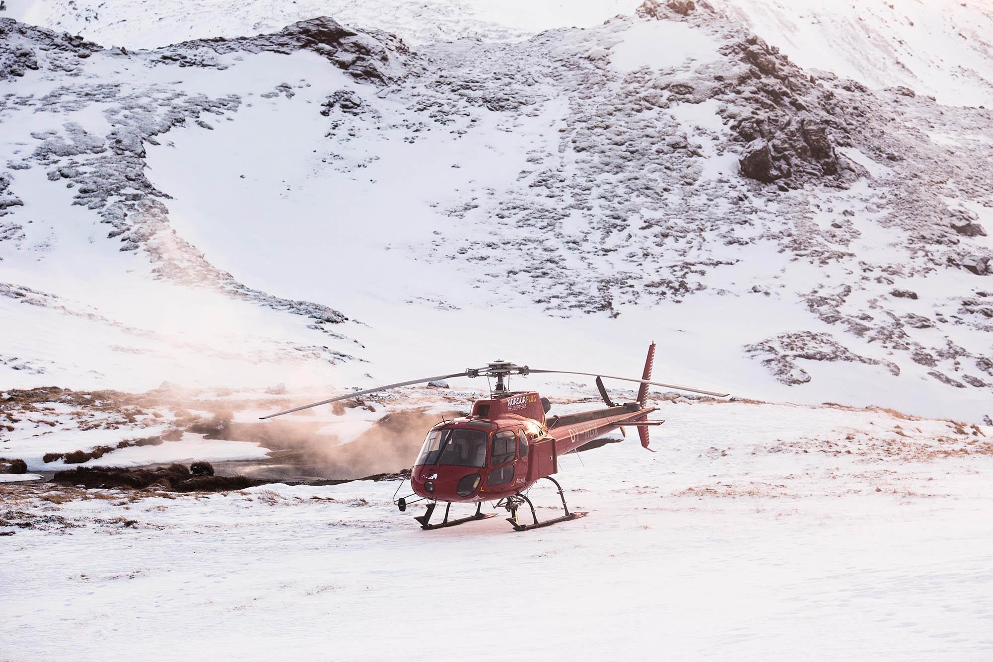 helicopter tour reykjavik