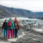 skaftafell glacier hike - Glacier hike on Svinafellsjokul