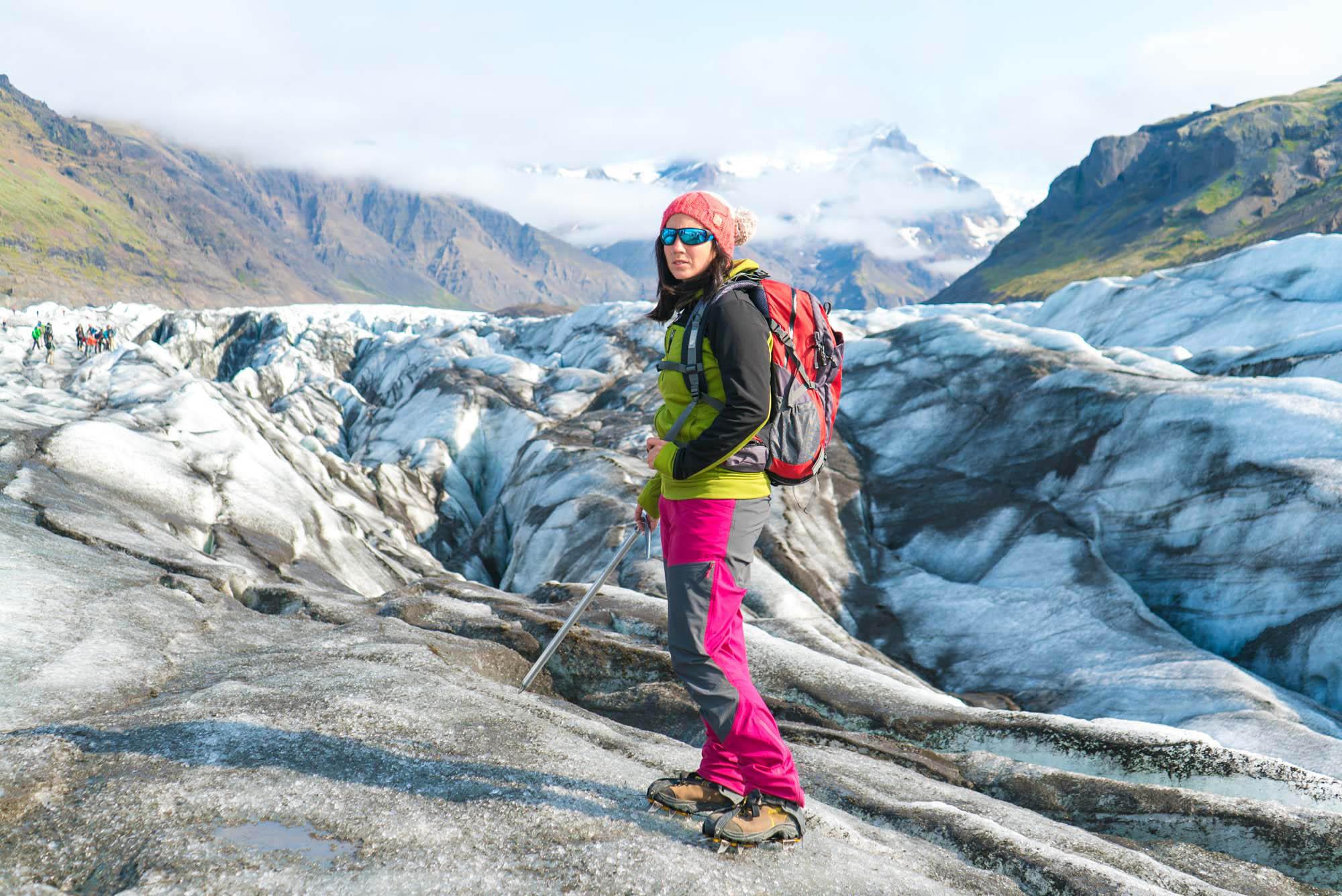 Glacier hike on Svinafellsjokull - Iceland glacier walk