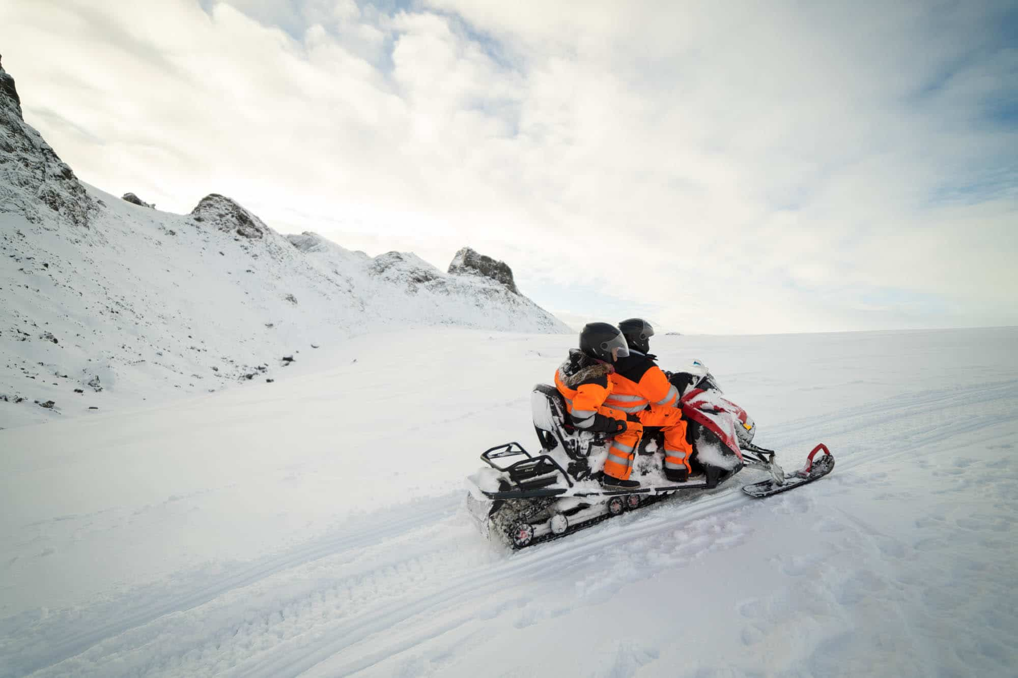 snowmobiling tour from reykjavik