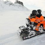 Snowmobiling and ice cave tour from Reykjavik