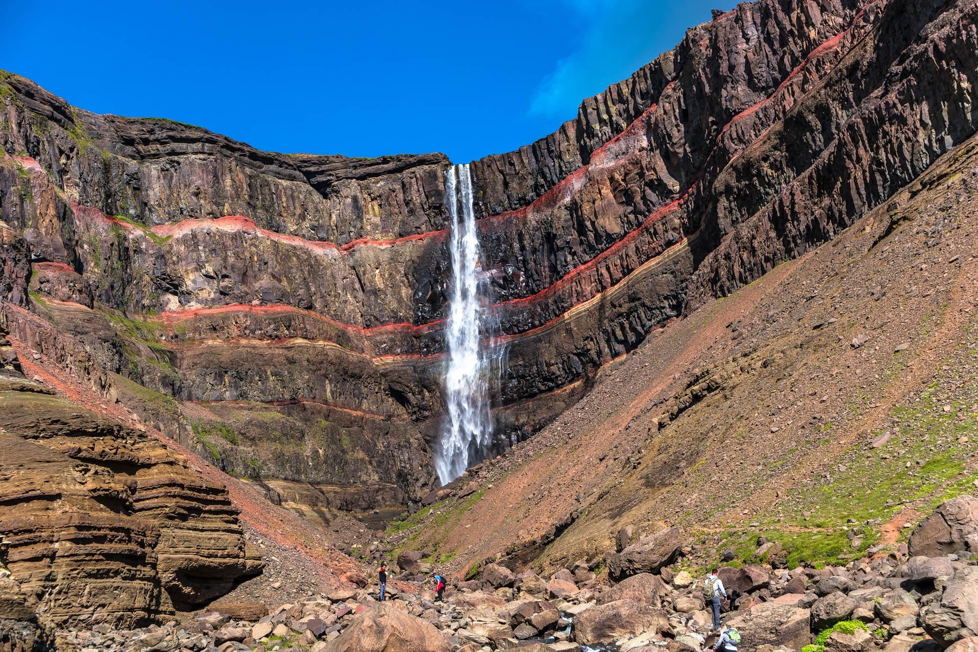 Hengifoss Waterfall East Iceland