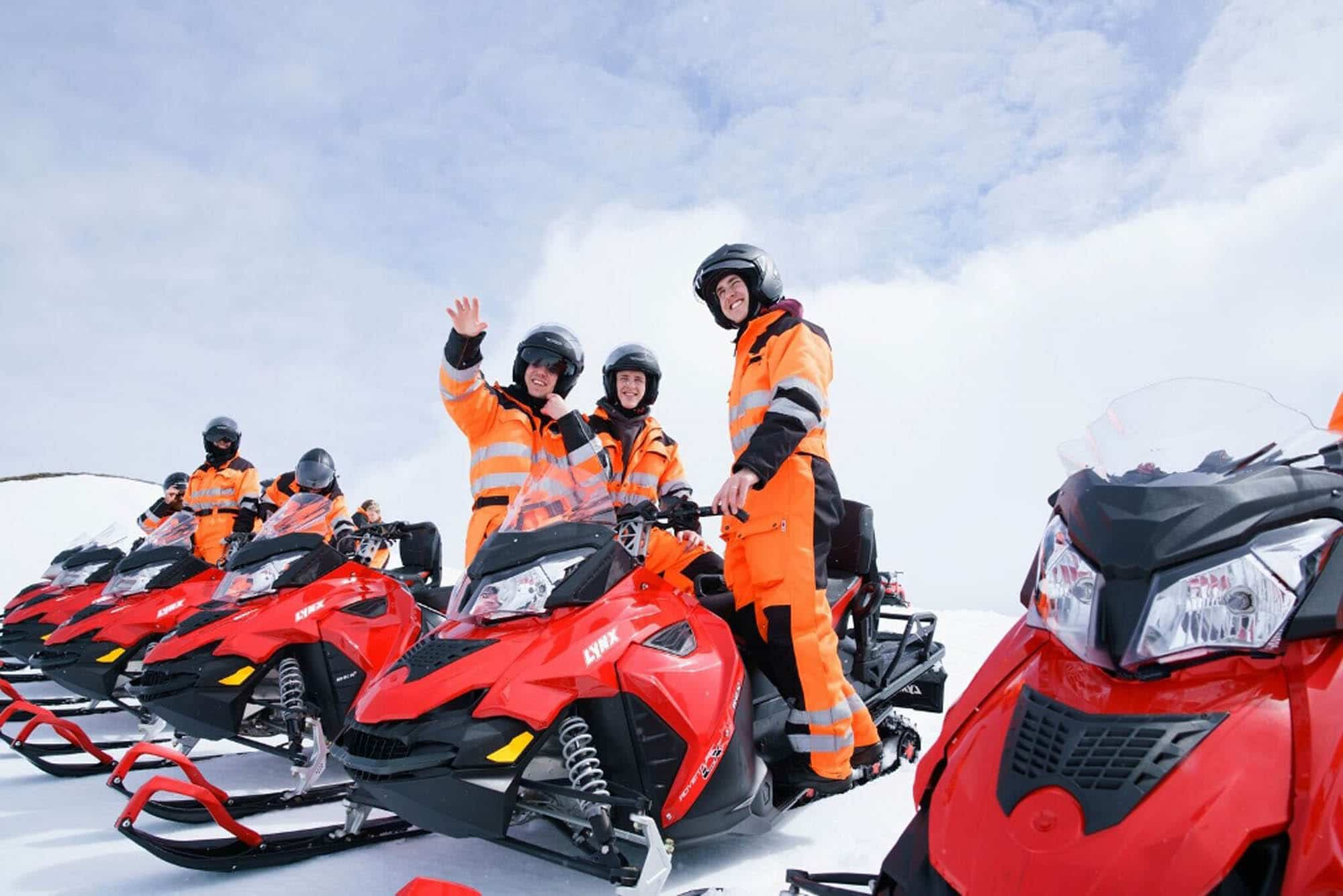 Iceland Snowmobiling - Snowmobiling Tour in South Iceland