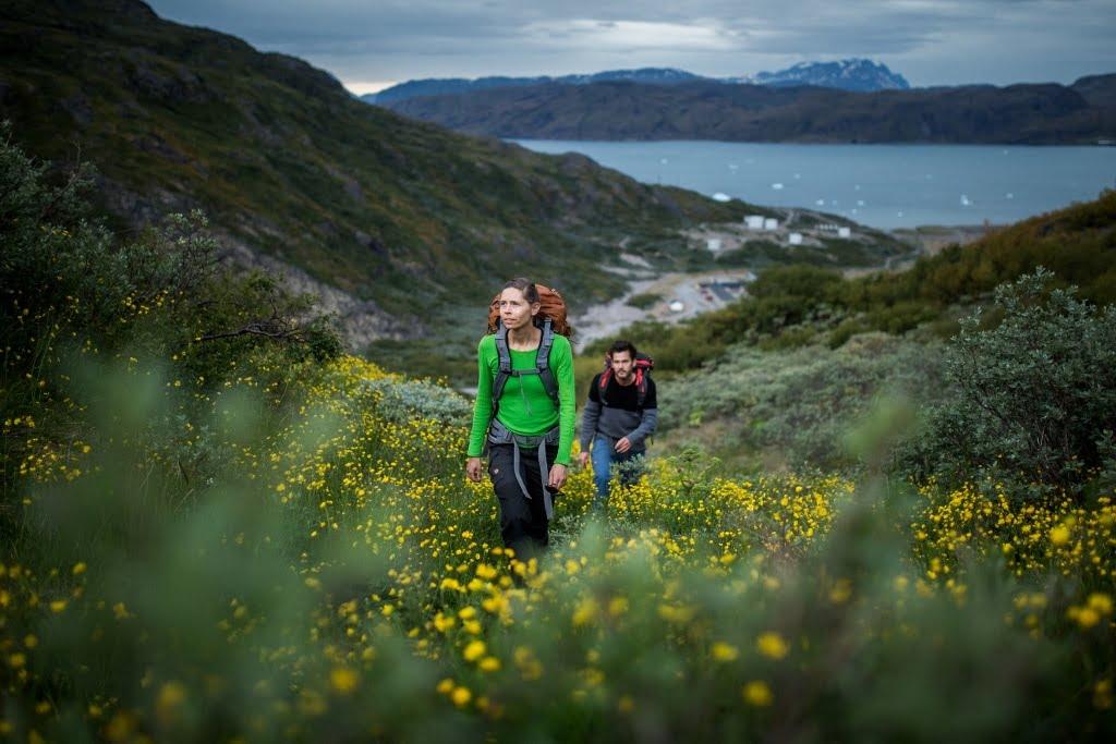 Hiking in Narsarsuaq Greenland - Photo by Mads Pihl - Visit Greenland