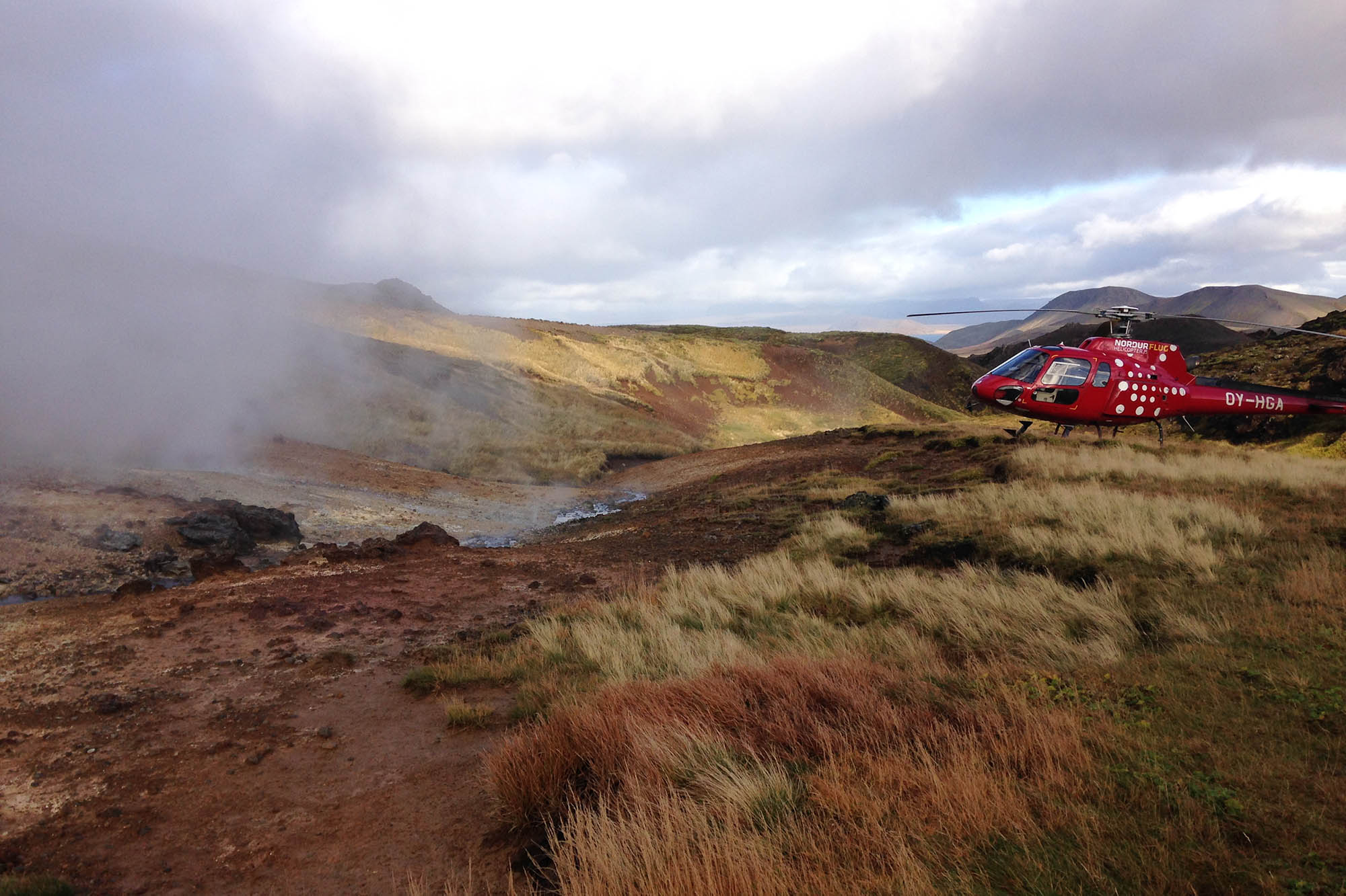 helicopter tours in iceland