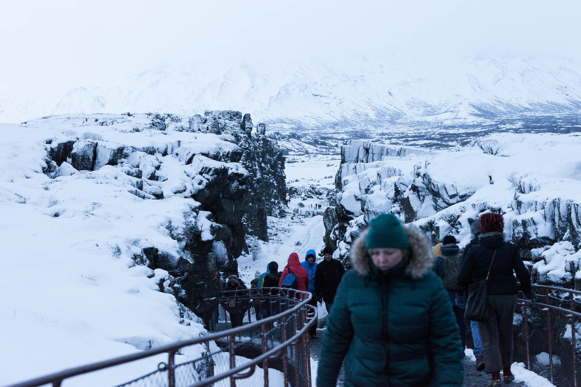 Thingvellir in winter - Golden Circle Iceland