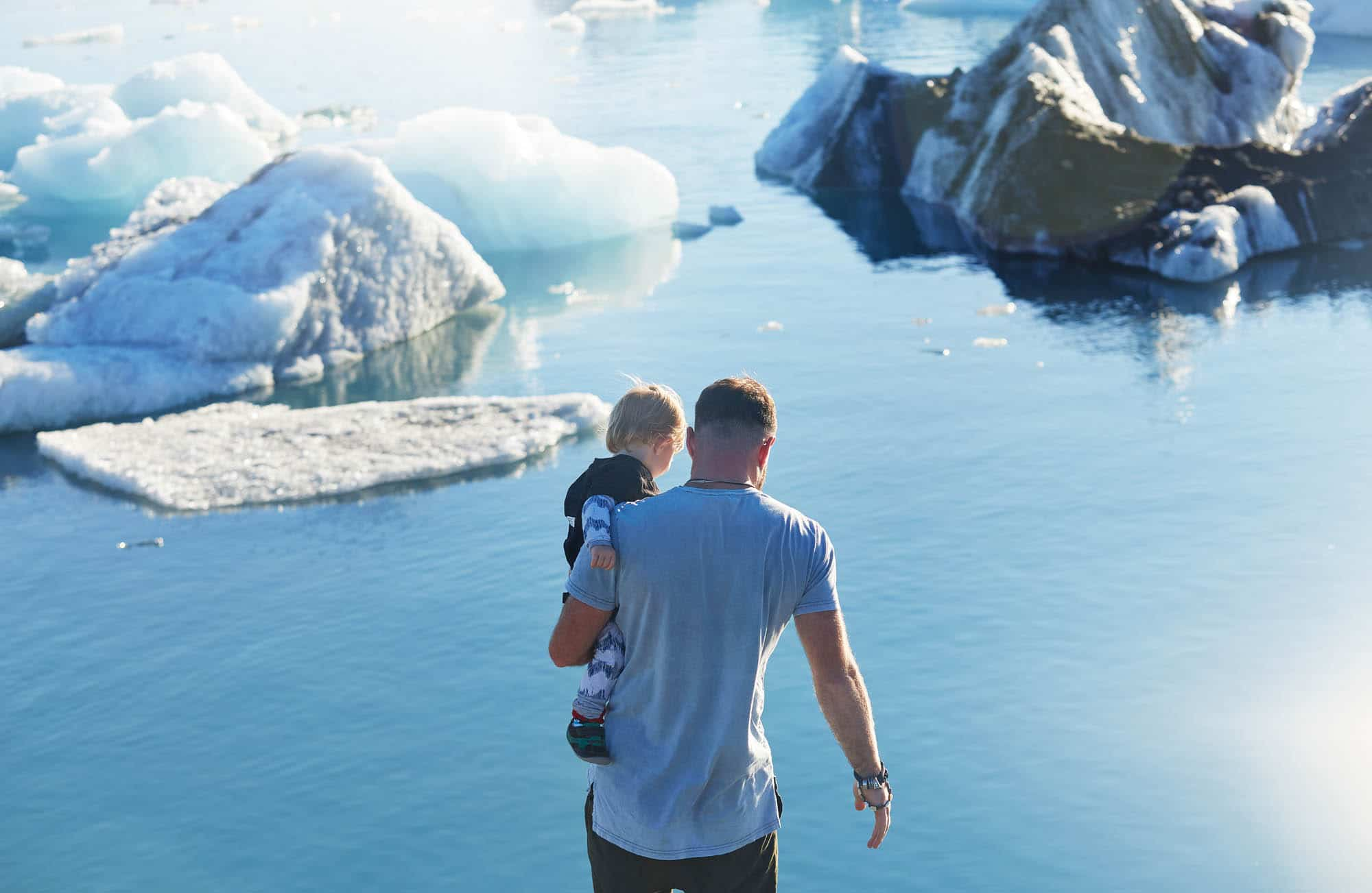 The Glacier Lagoon - Iceland family vacation