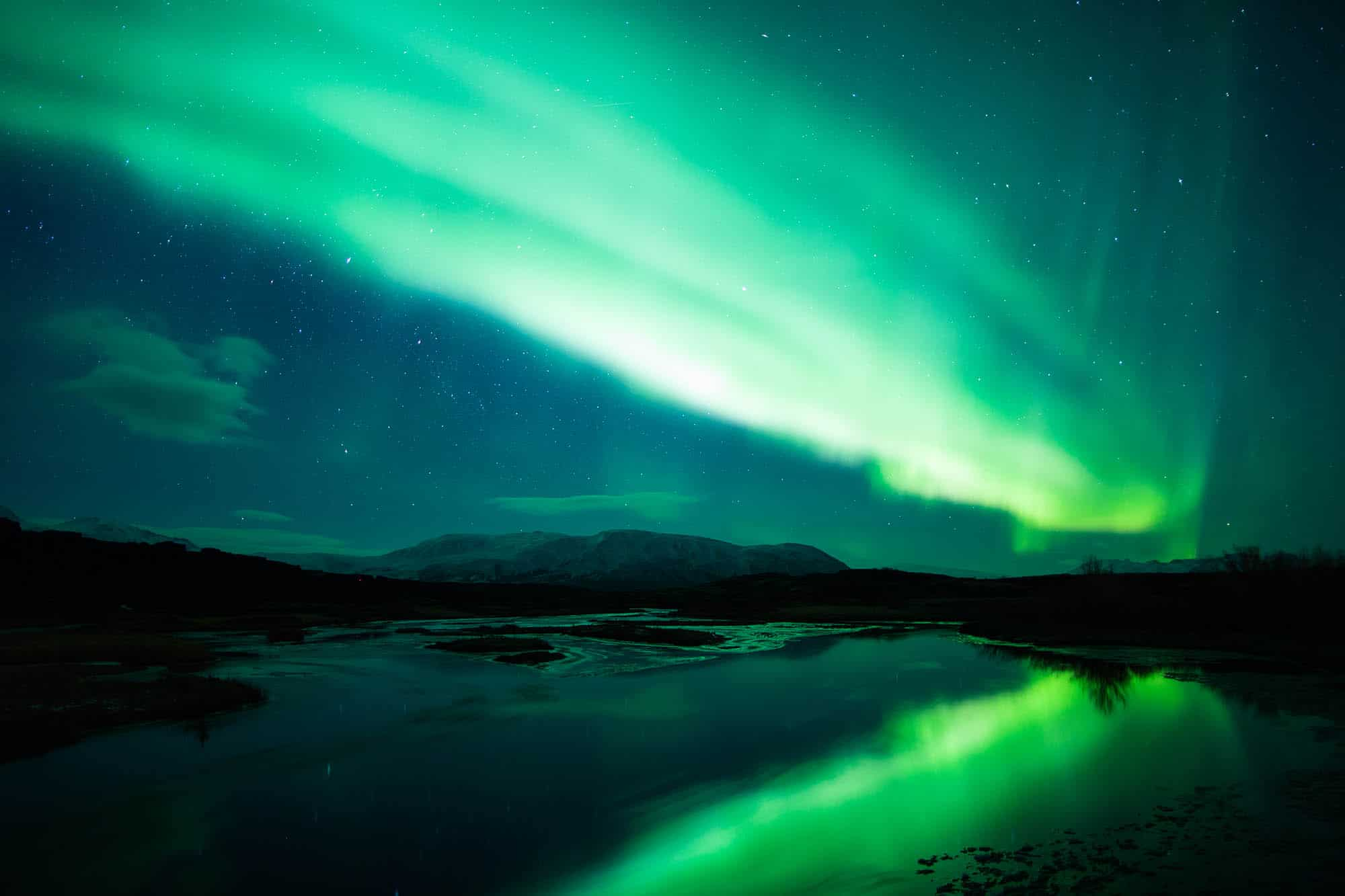 Iceland northern lights private tour