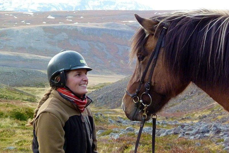 Horse Riding Near Akureyri
