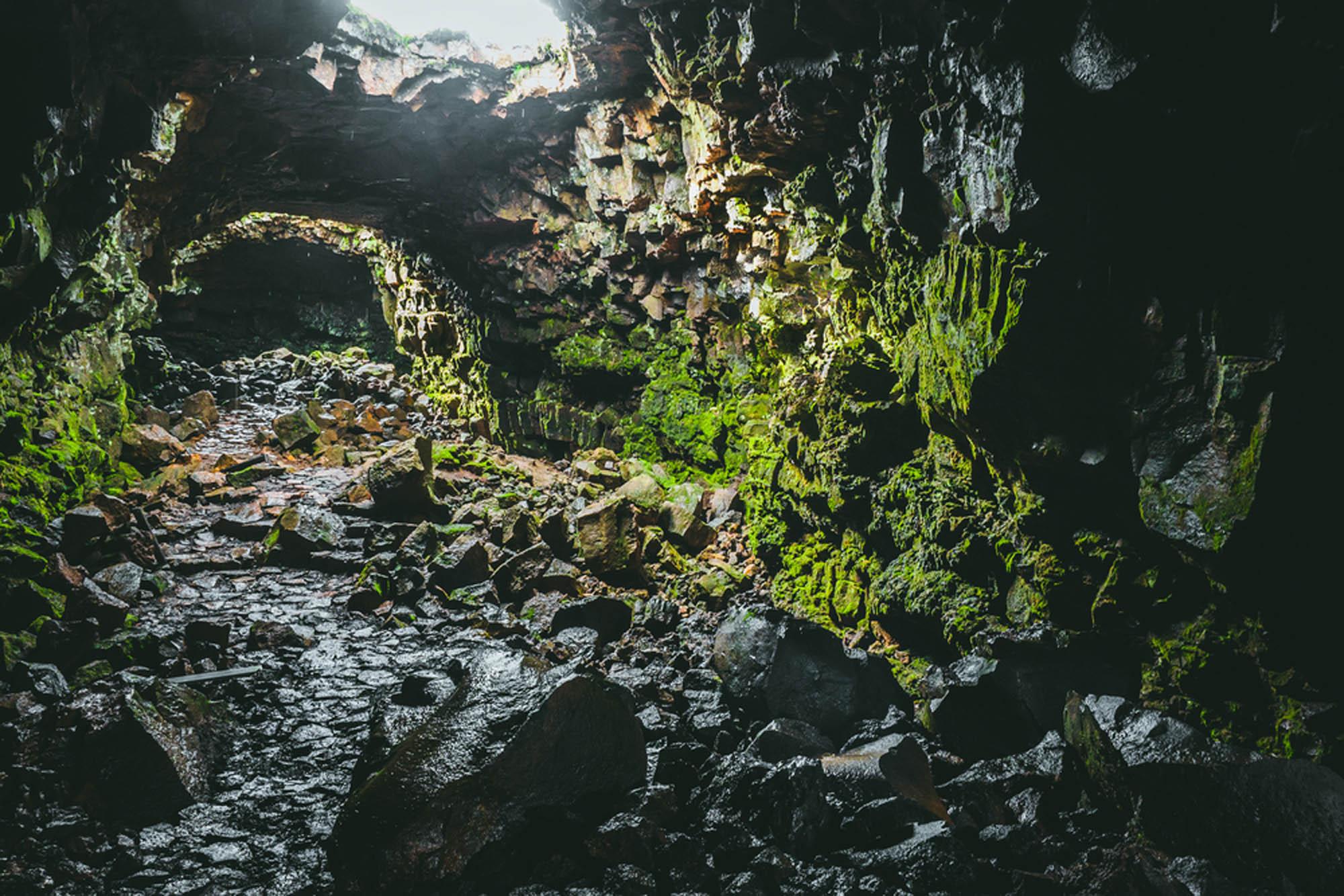 Raufarholshellir Cave - Lava tunnel tour Iceland