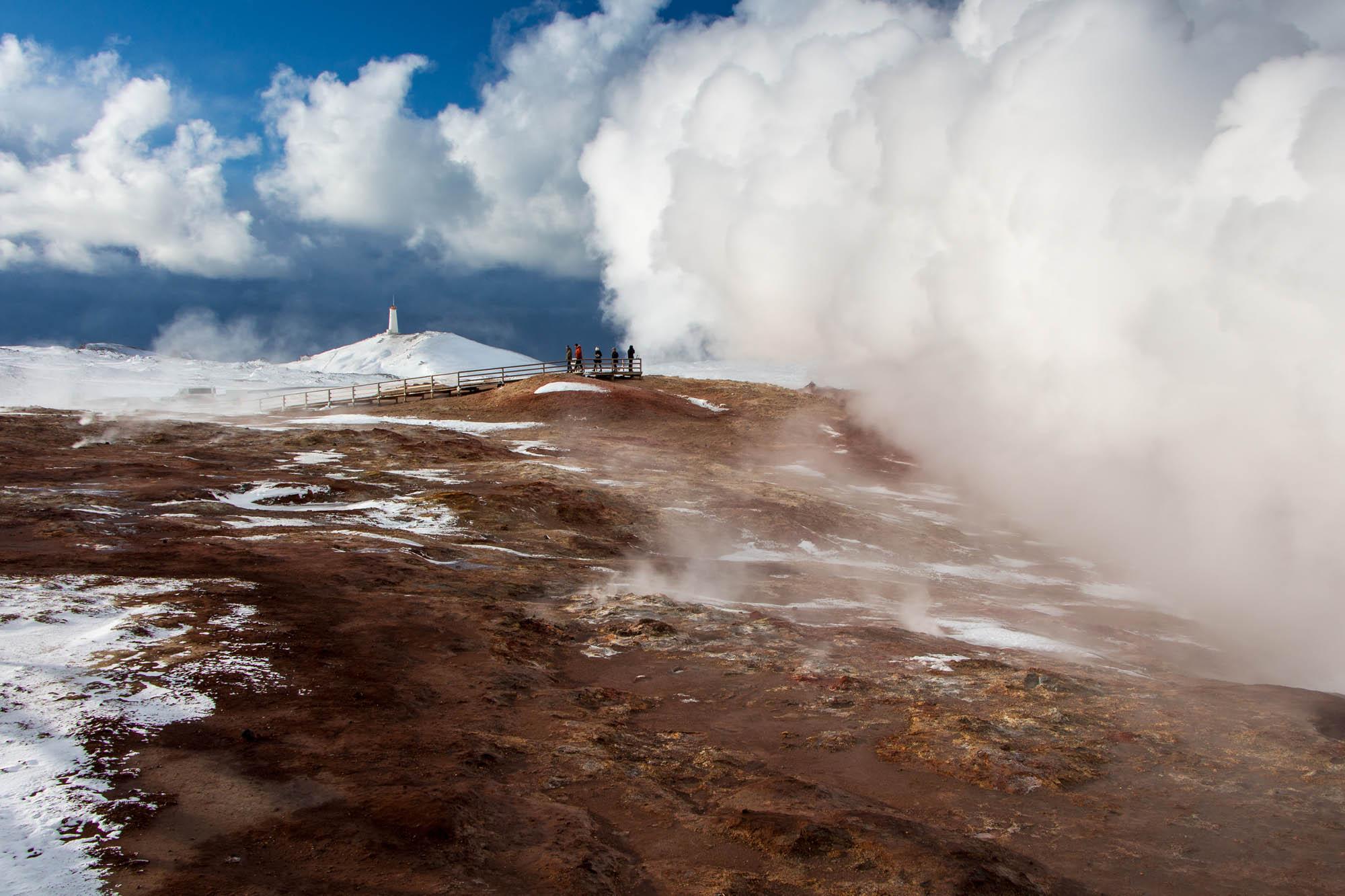 Reykjanes Gunnuhver Geothermal Area