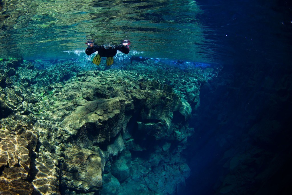 Snorkeling in Silfra - Iceland snorkeling tour