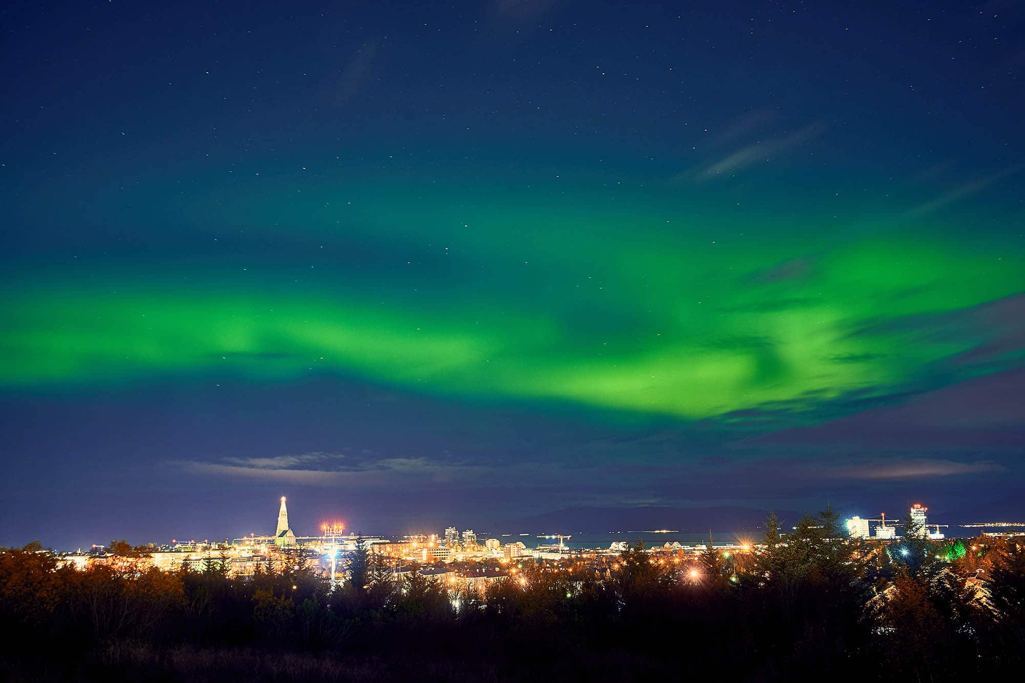 reykjavik northern lights private tour