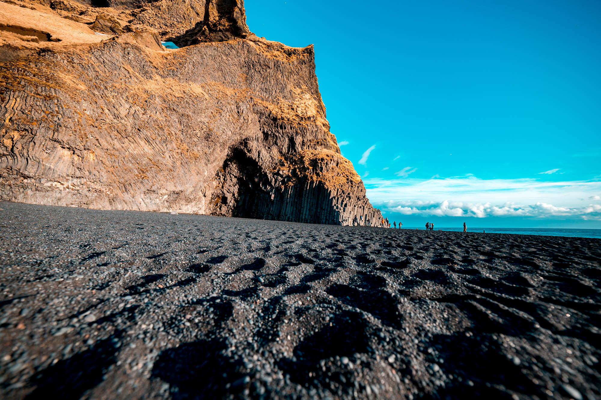 reynisfjara-black-beach - south iceland tour