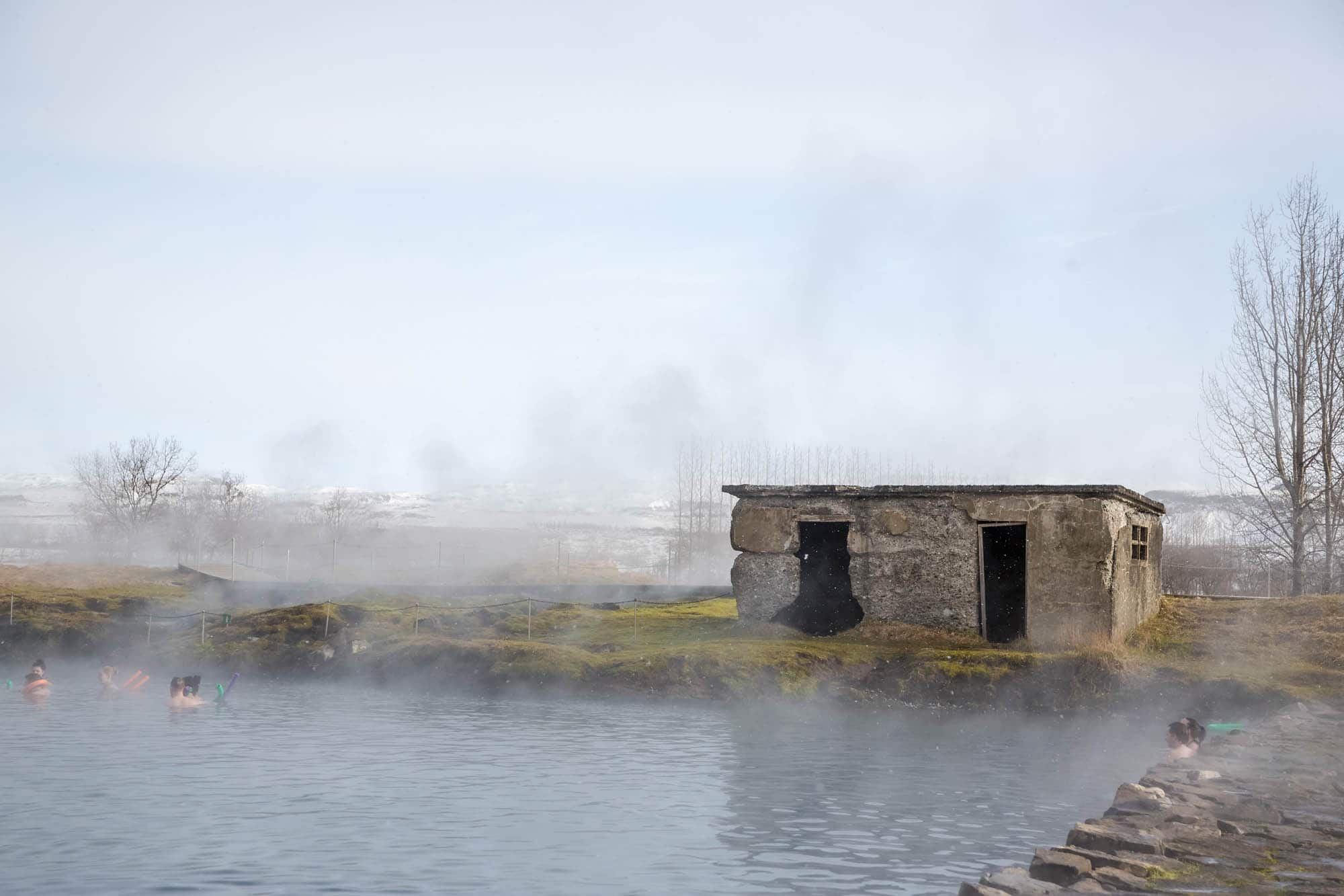 iceland golden circle tour with hot spring