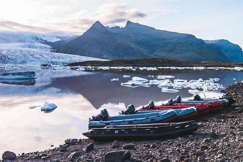 iceland glacier lagoon boat tour