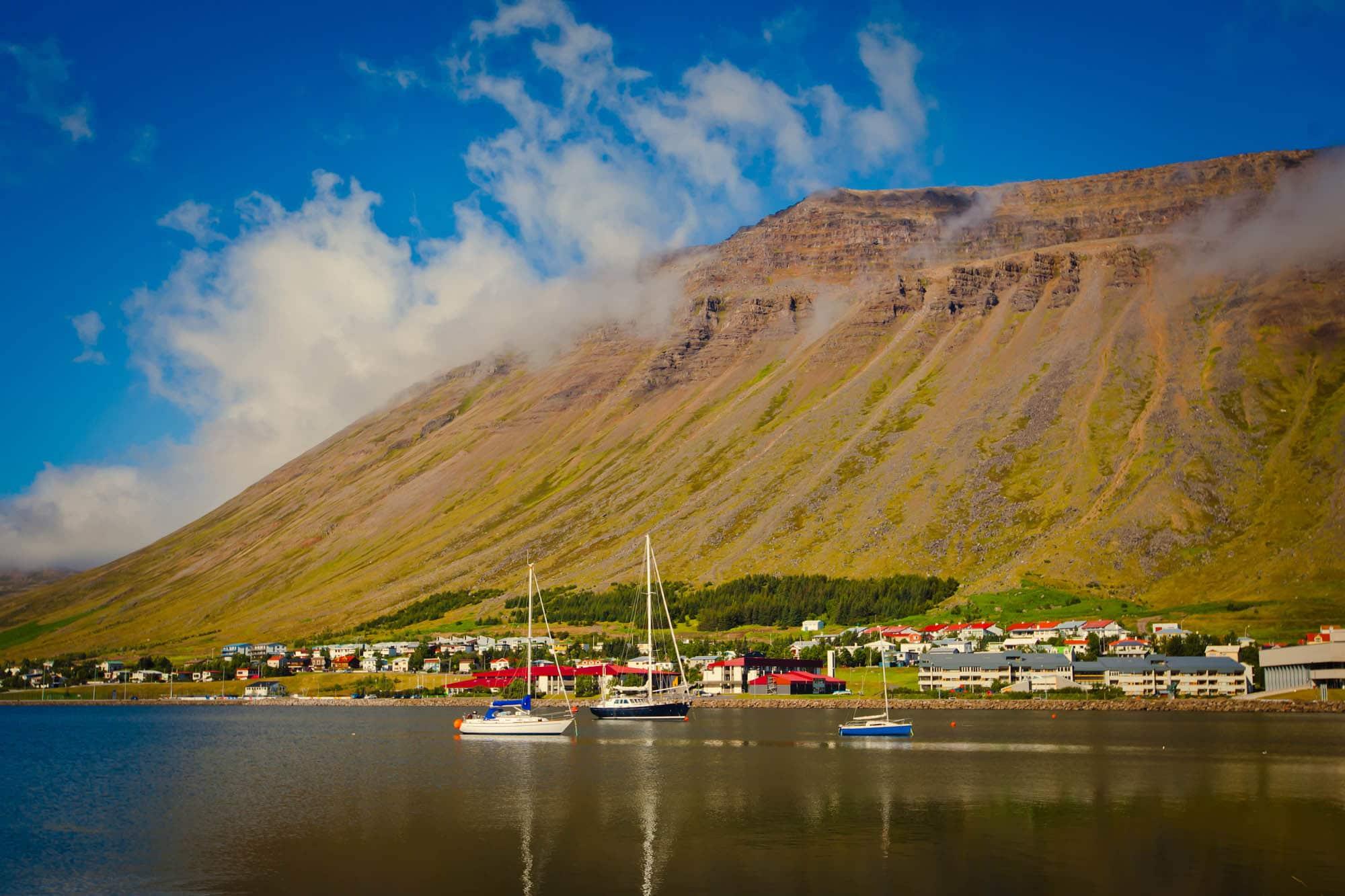 Isafjördur Bay - Westfjords of Iceland