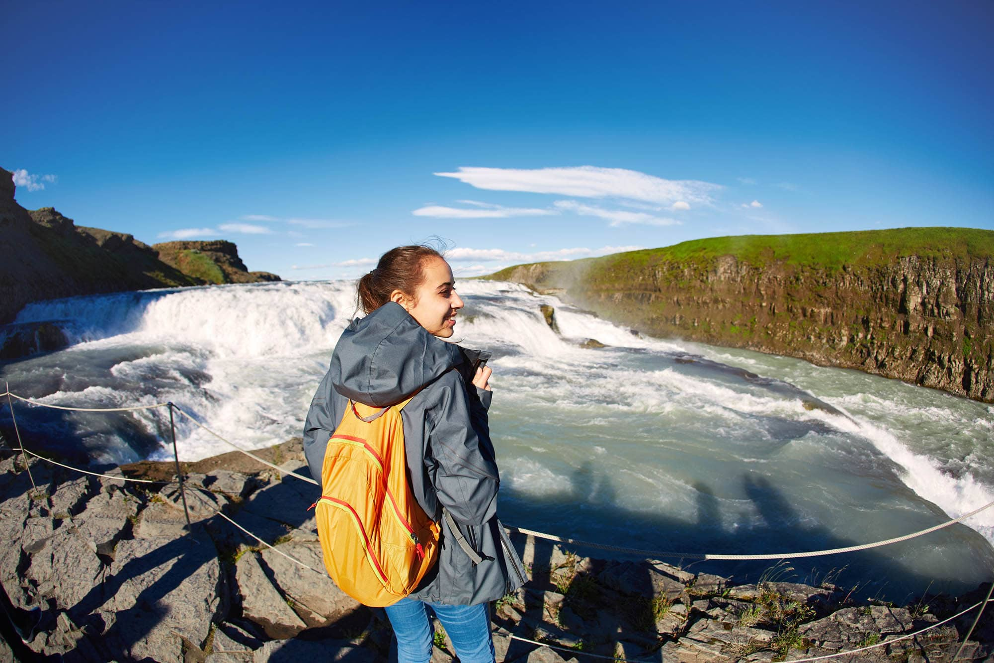 Gullfoss Waterfall - Iceland Family Vacation