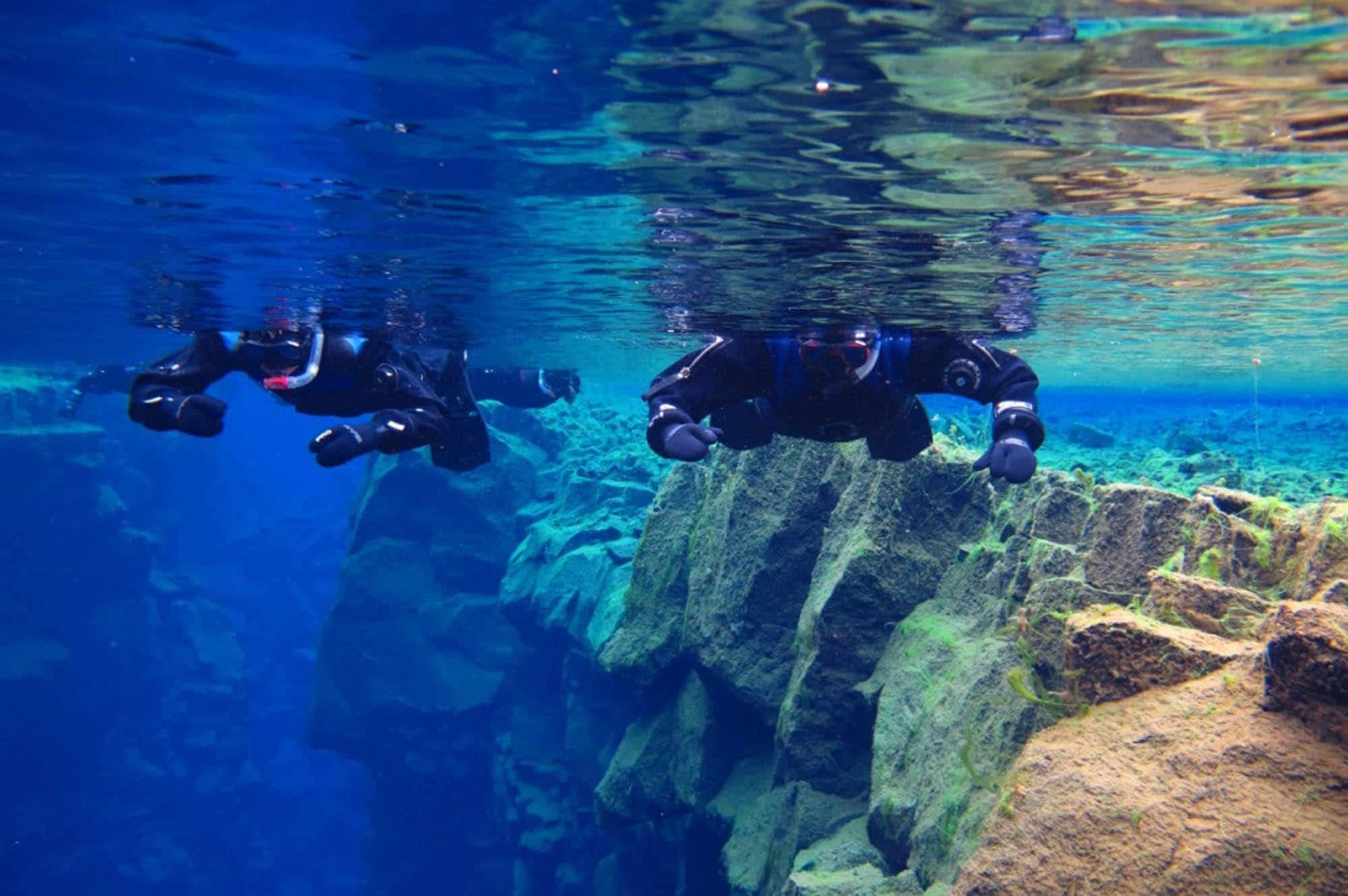 Silfra snorkeling - Iceland snorkeling
