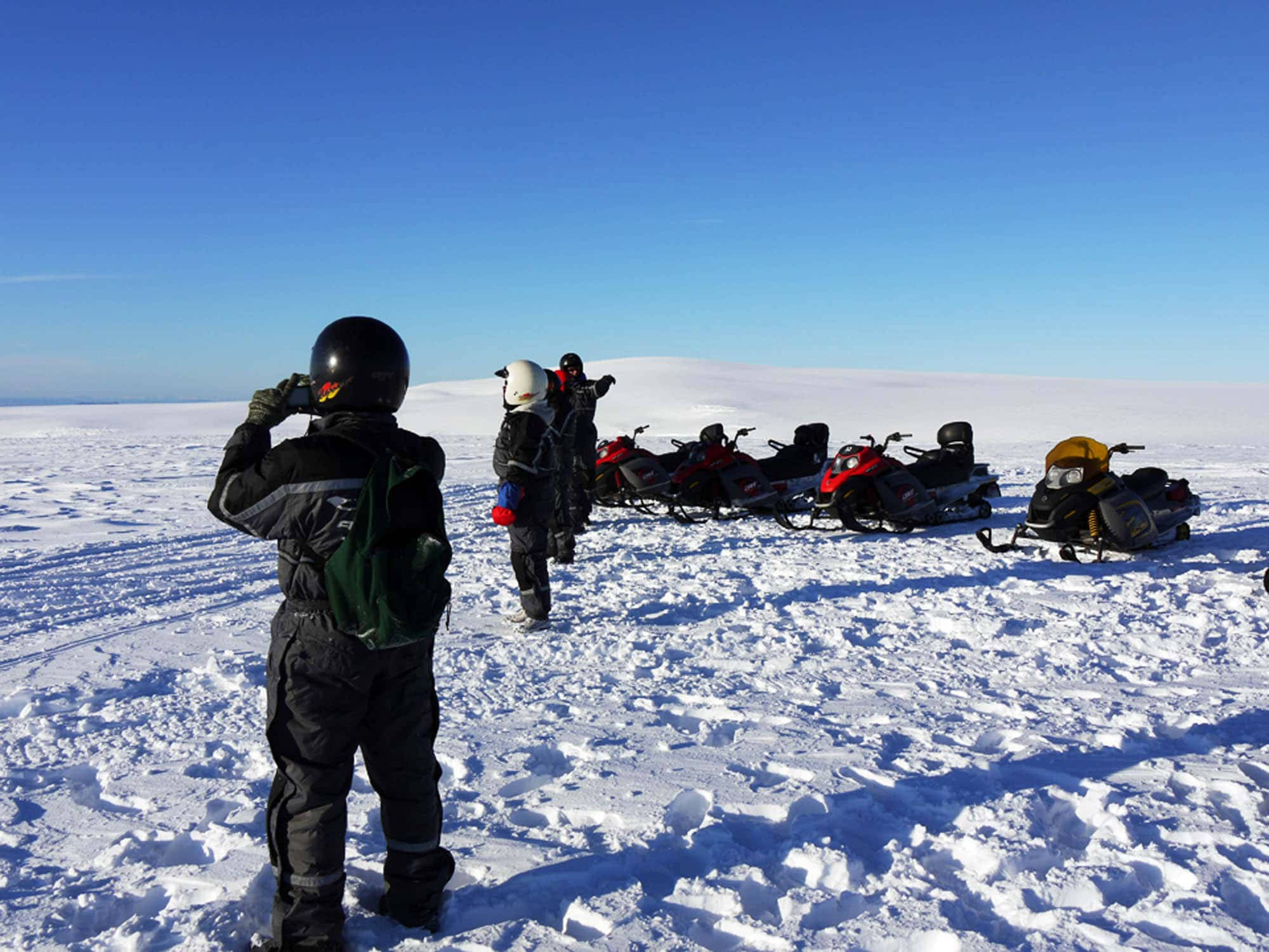 iceland snowmobile tours