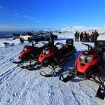 Glacier Snowmobiling Iceland