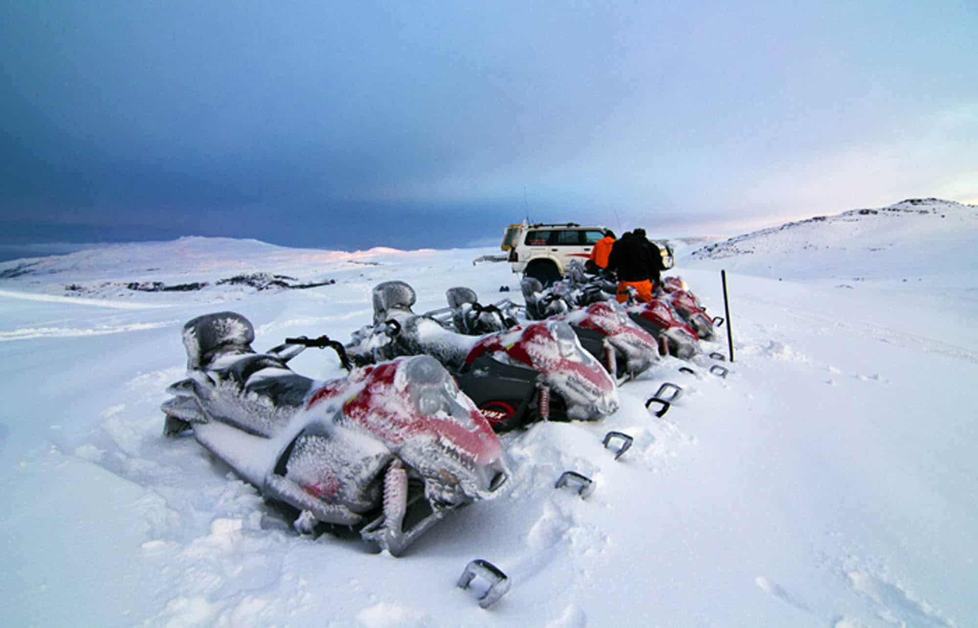 best place to snowmobile in iceland