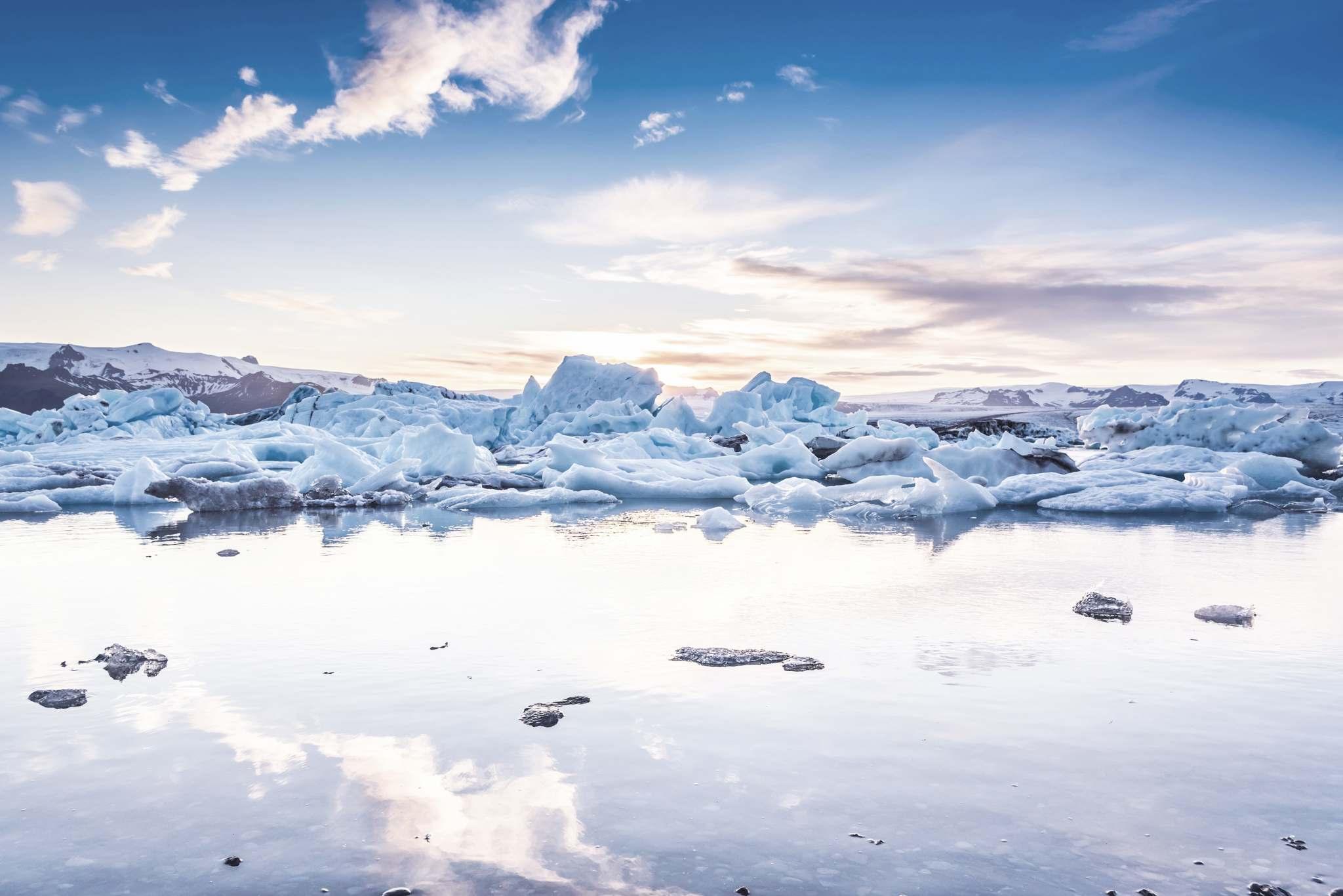 Iceland Jokulsarlon Glacial Lagoon