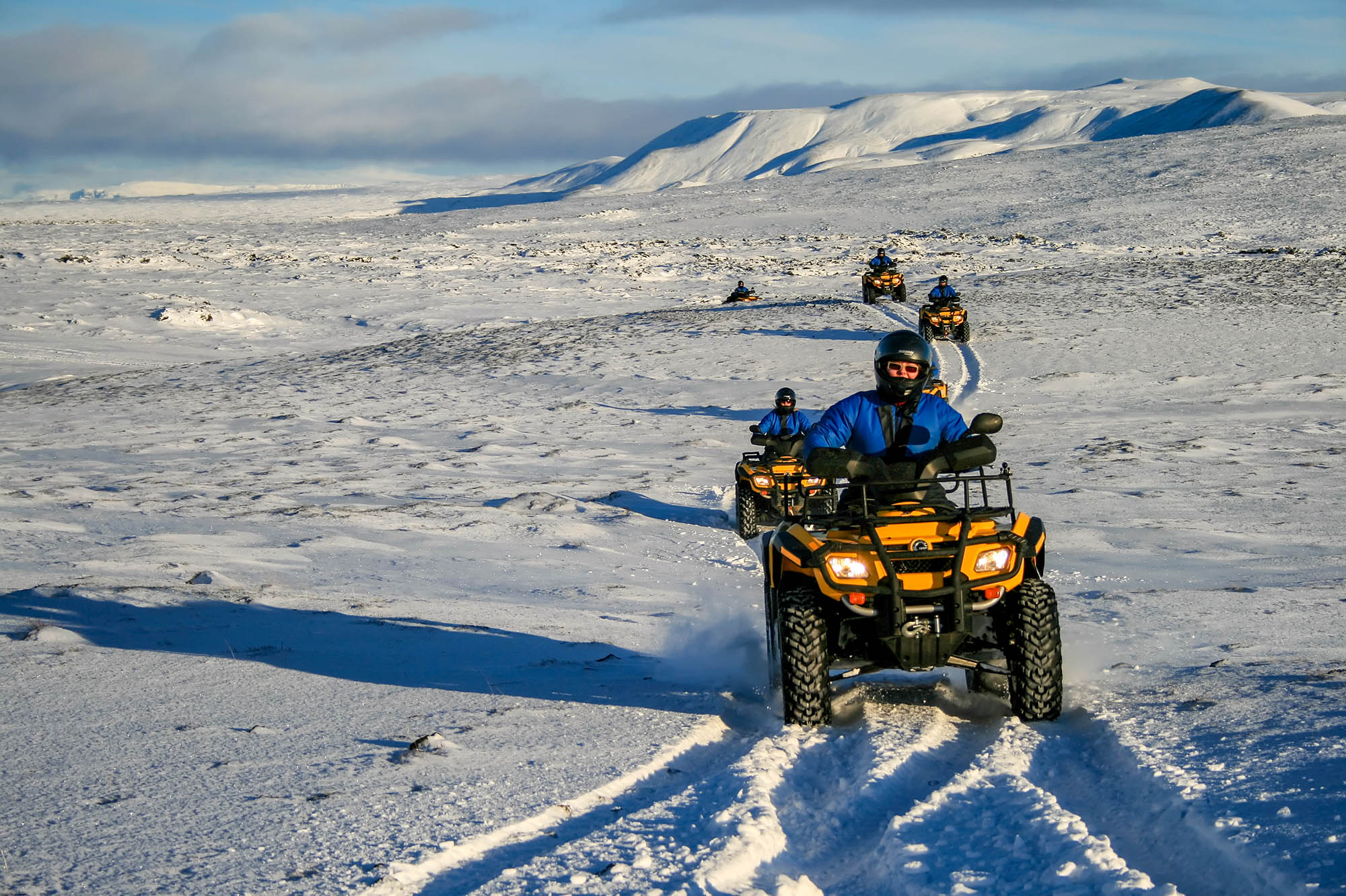 ATV Tour in the snow - Photo by Kevin Boutwell