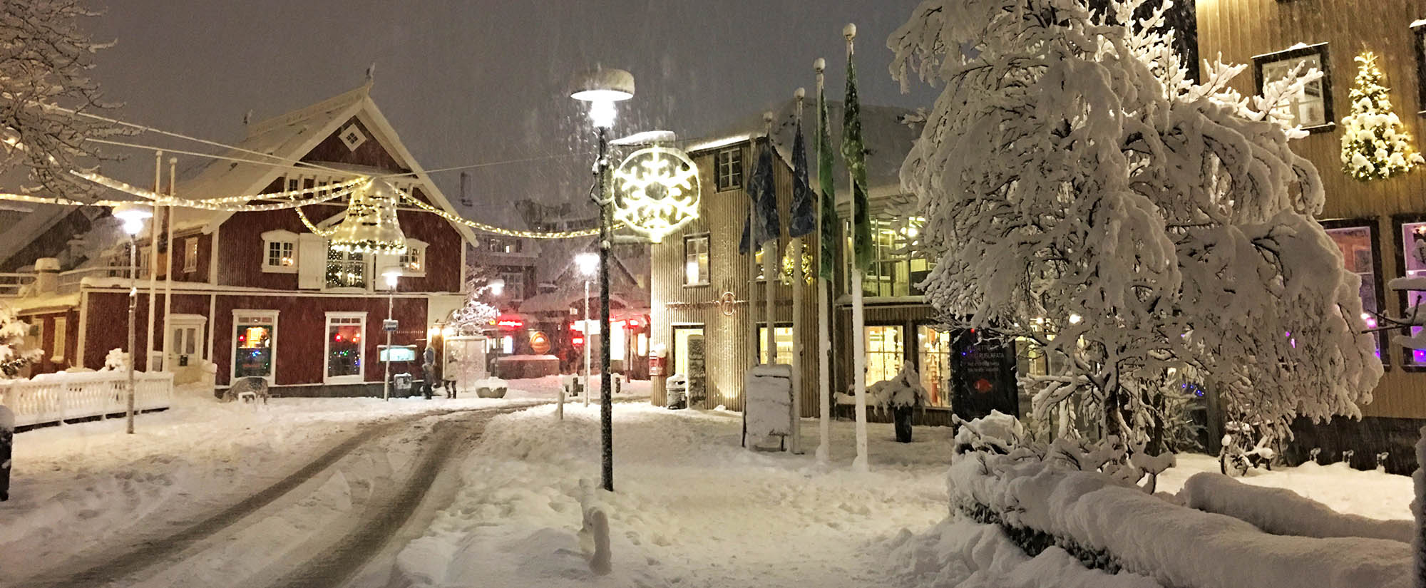 Christmas in Reykjavik