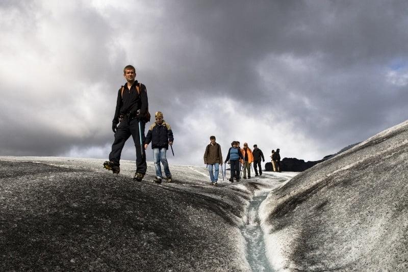Glacier Hike - Sólheimajökull - Christmas in Iceland