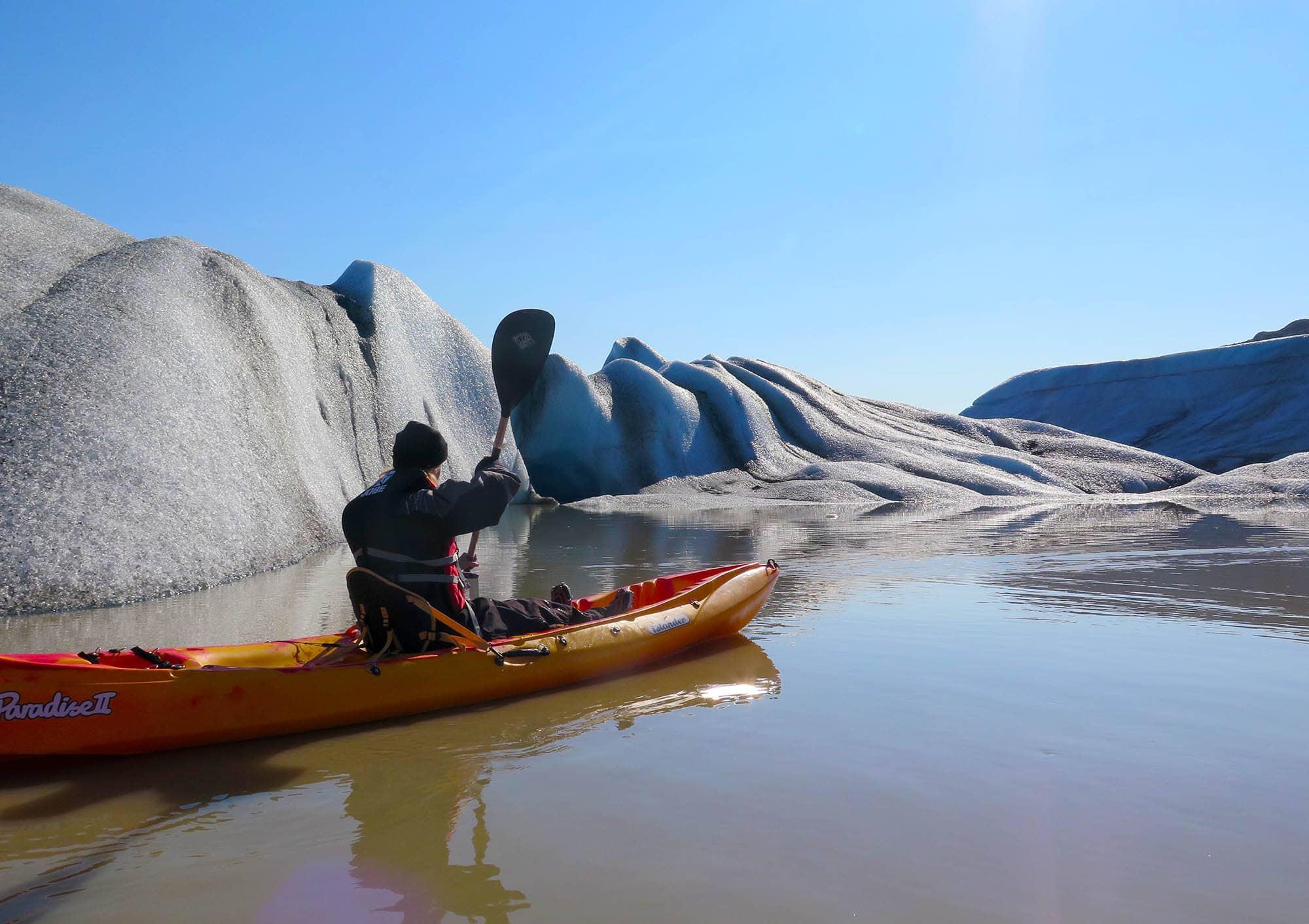 kayaking tour iceland