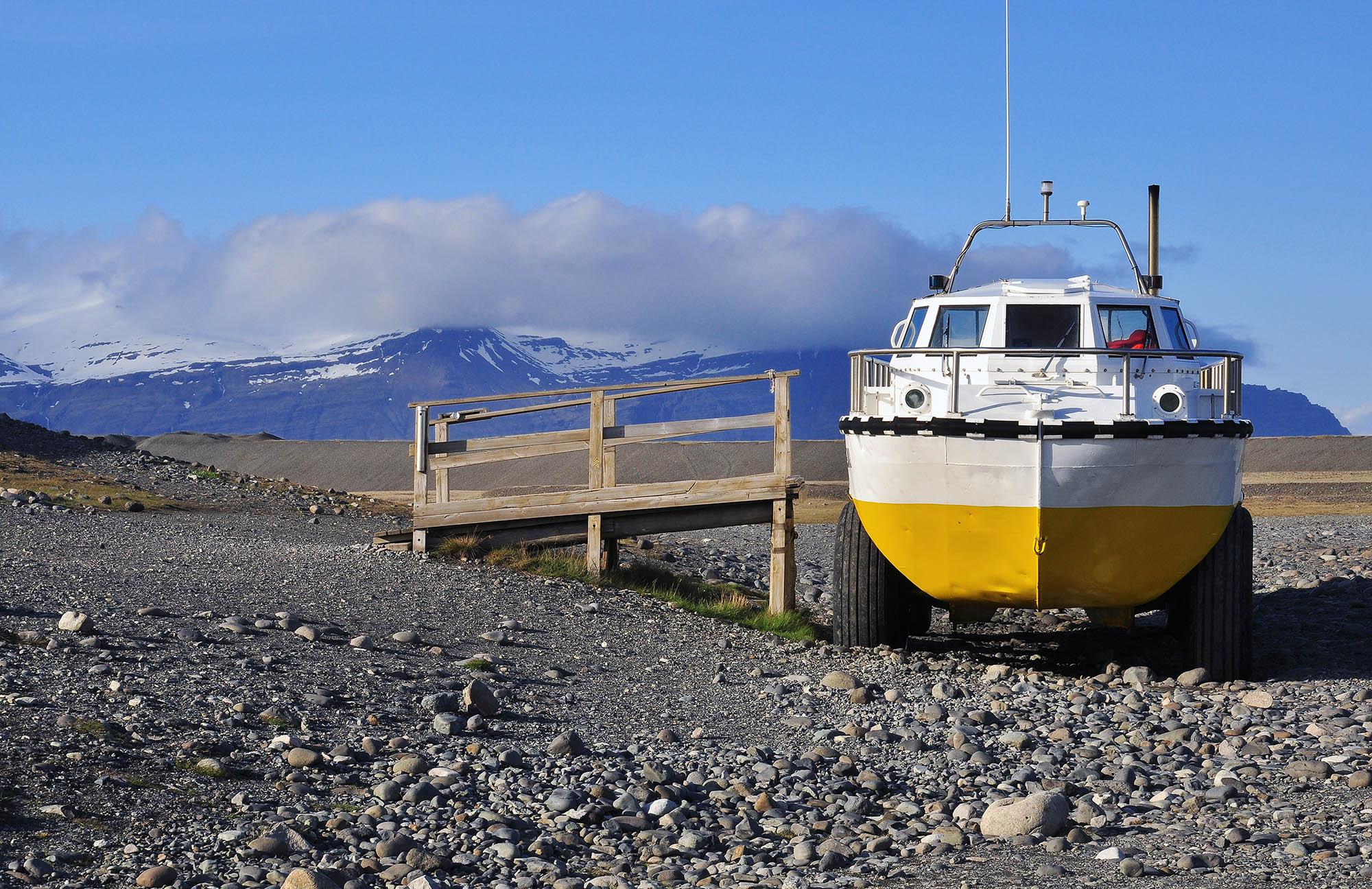 jokulsarlon boat trip